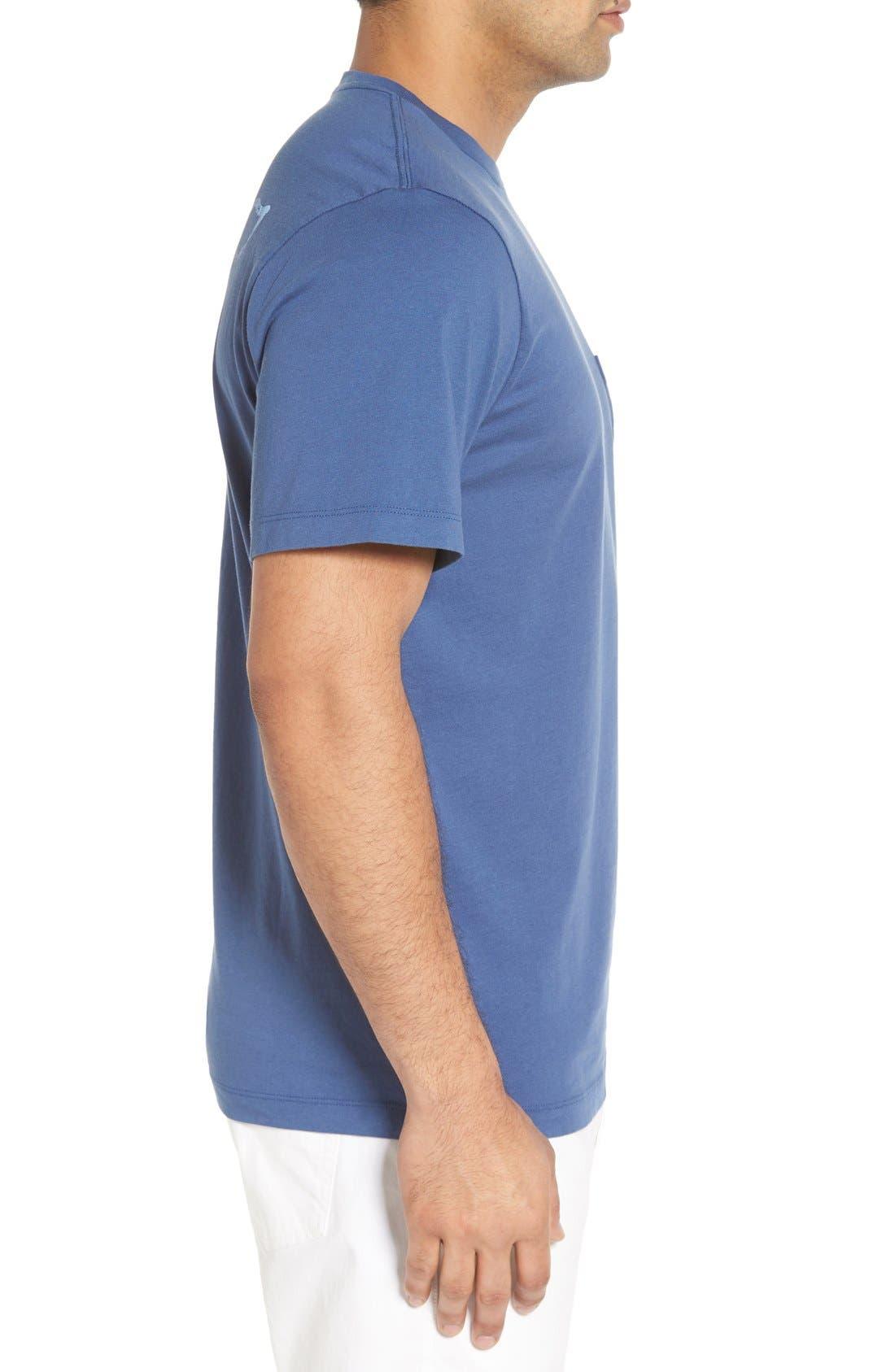 Vintage Whale Pocket T-Shirt,                             Alternate thumbnail 5, color,                             461