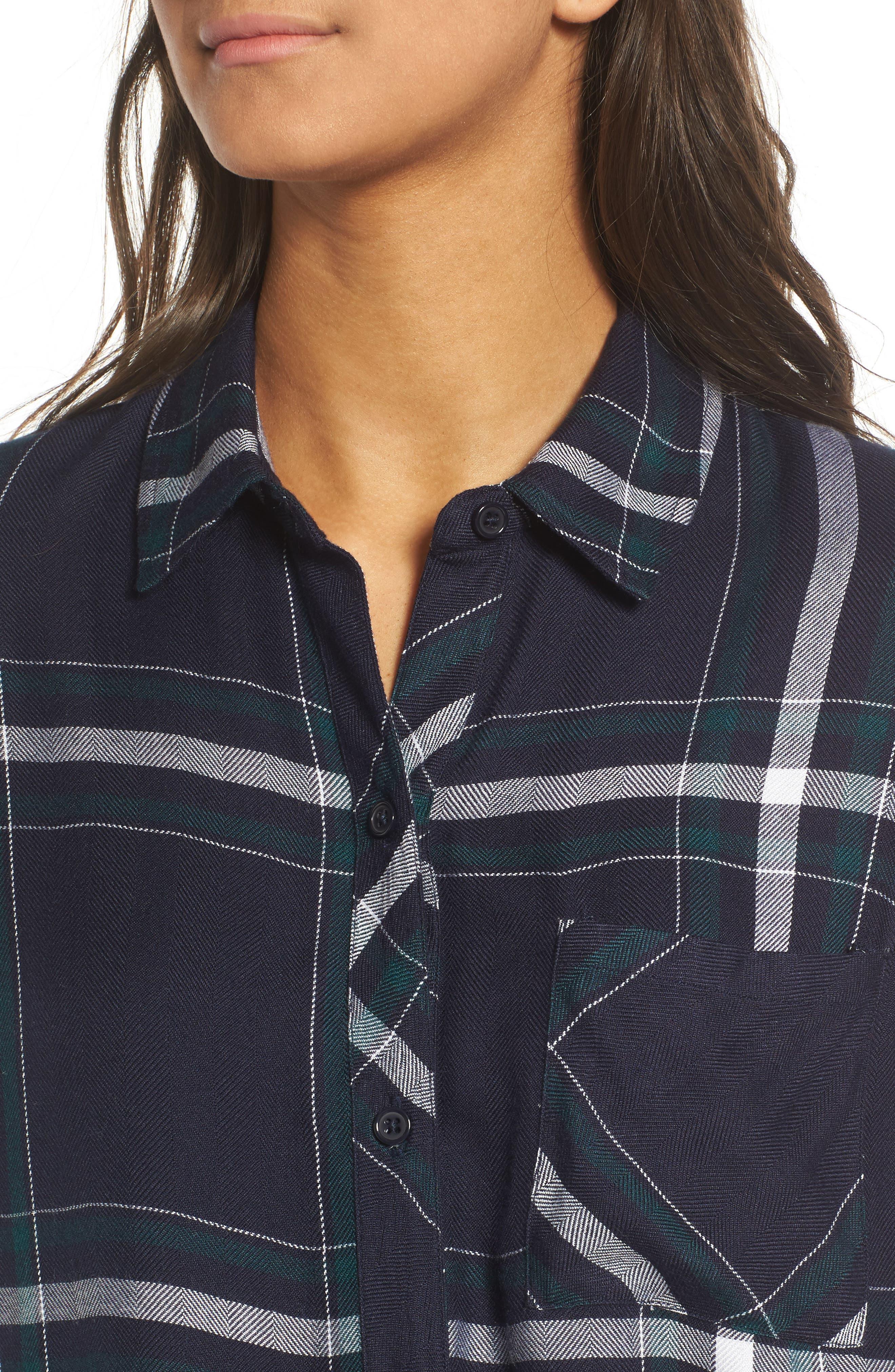 Hunter Plaid Shirt,                             Alternate thumbnail 532, color,