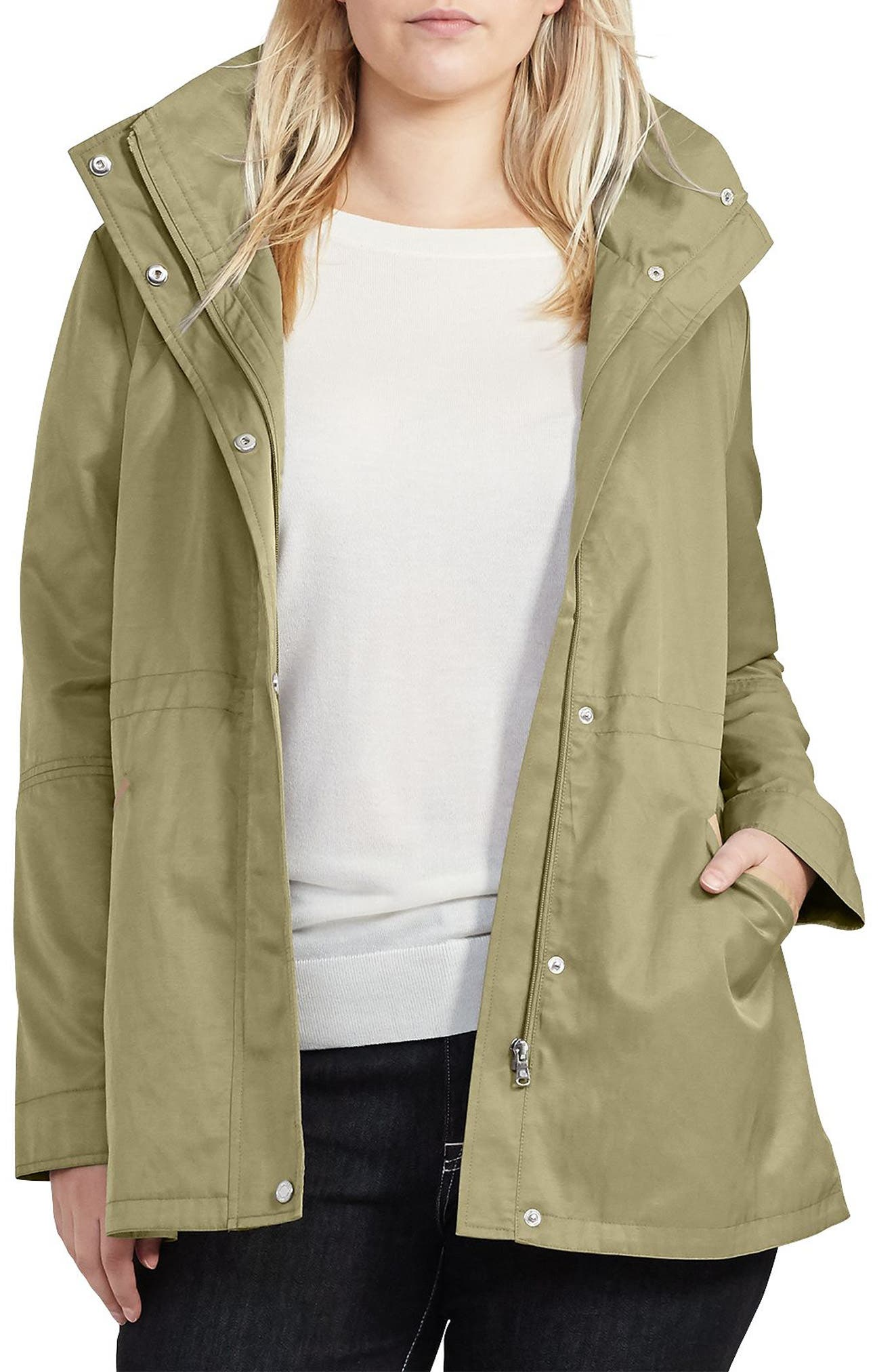 Hooded Anorak,                         Main,                         color, 368