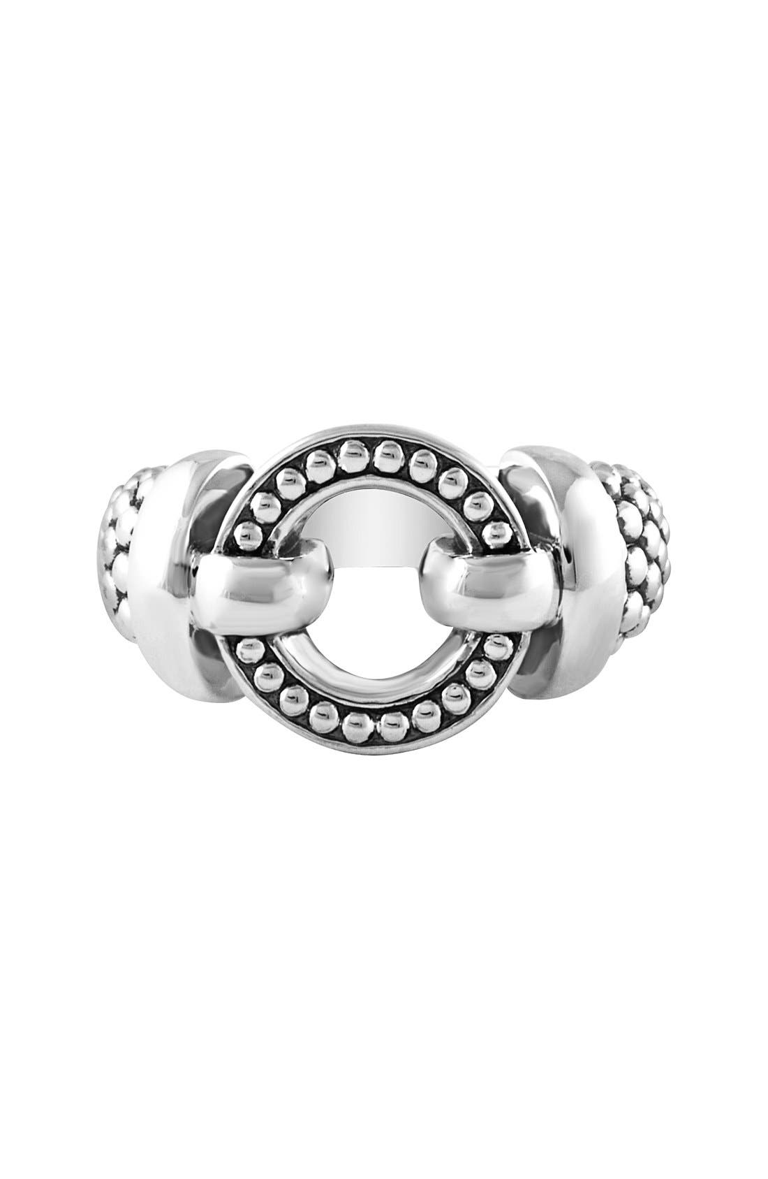'Enso' Caviar<sup>™</sup> Ring,                             Alternate thumbnail 5, color,