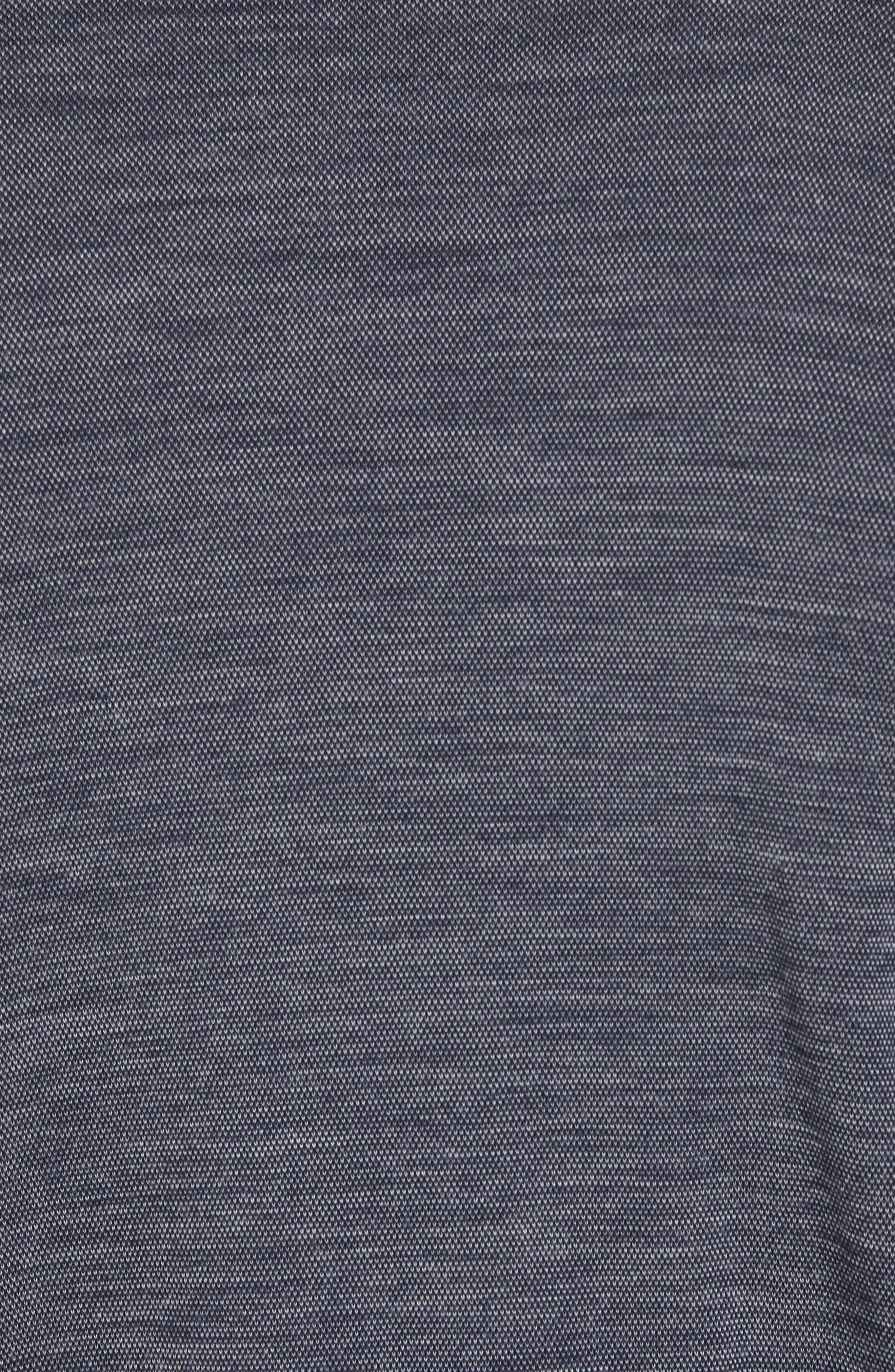 Merino Wool Raglan T-Shirt,                             Alternate thumbnail 5, color,                             410