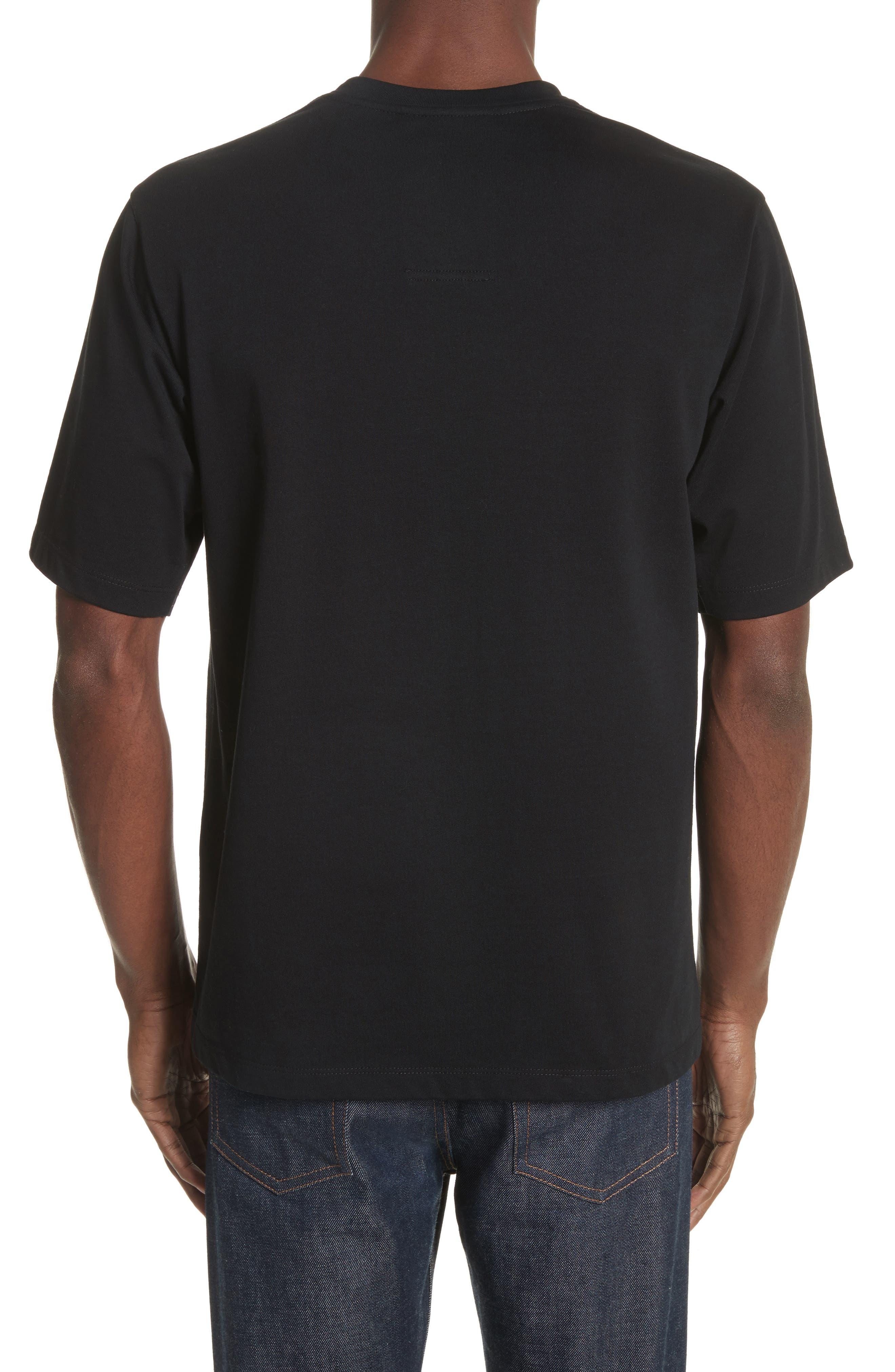Pinstripe Pocket T-Shirt,                             Alternate thumbnail 2, color,