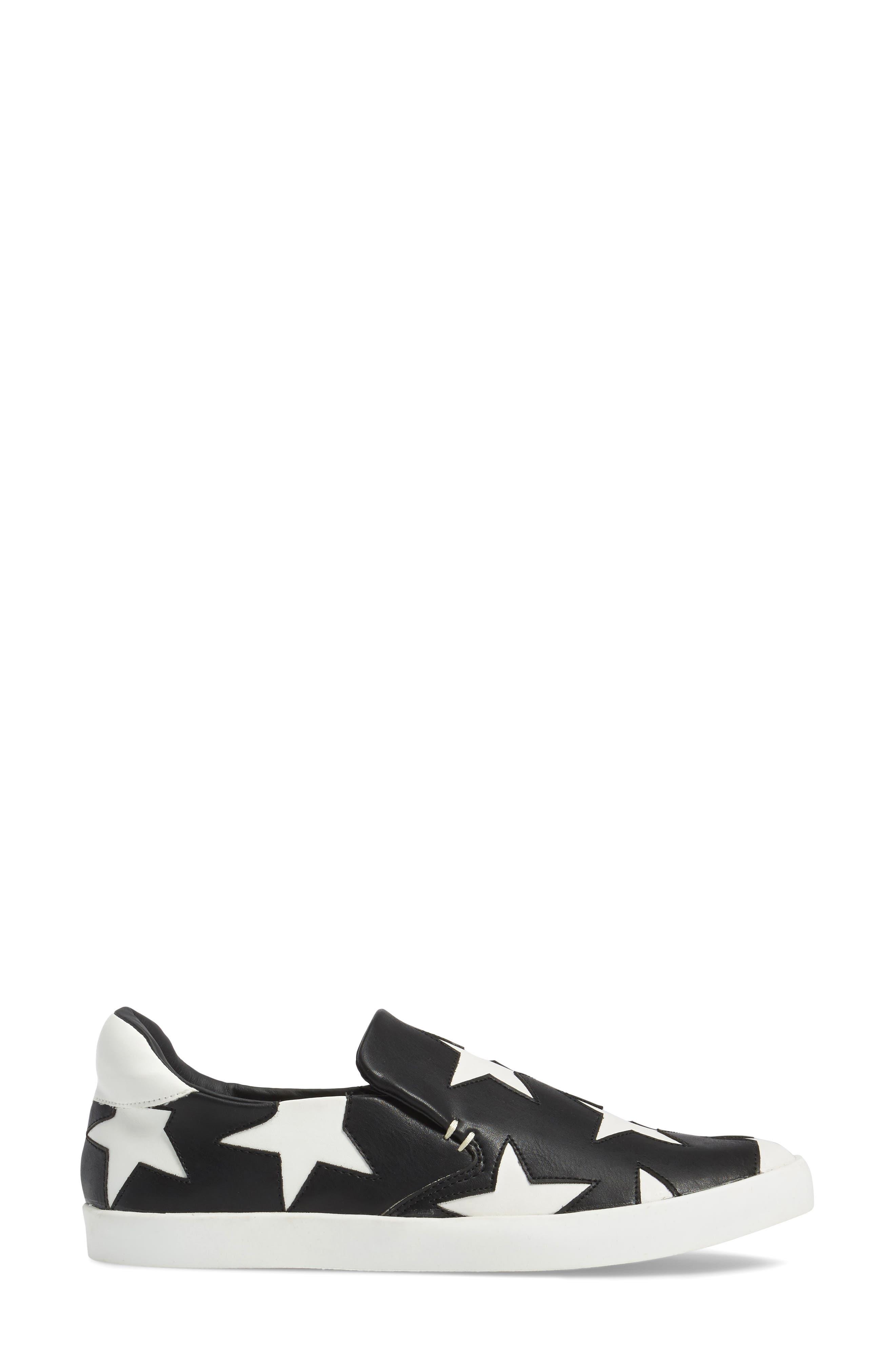 Highlight Slip-On Star Sneaker,                             Alternate thumbnail 3, color,                             015