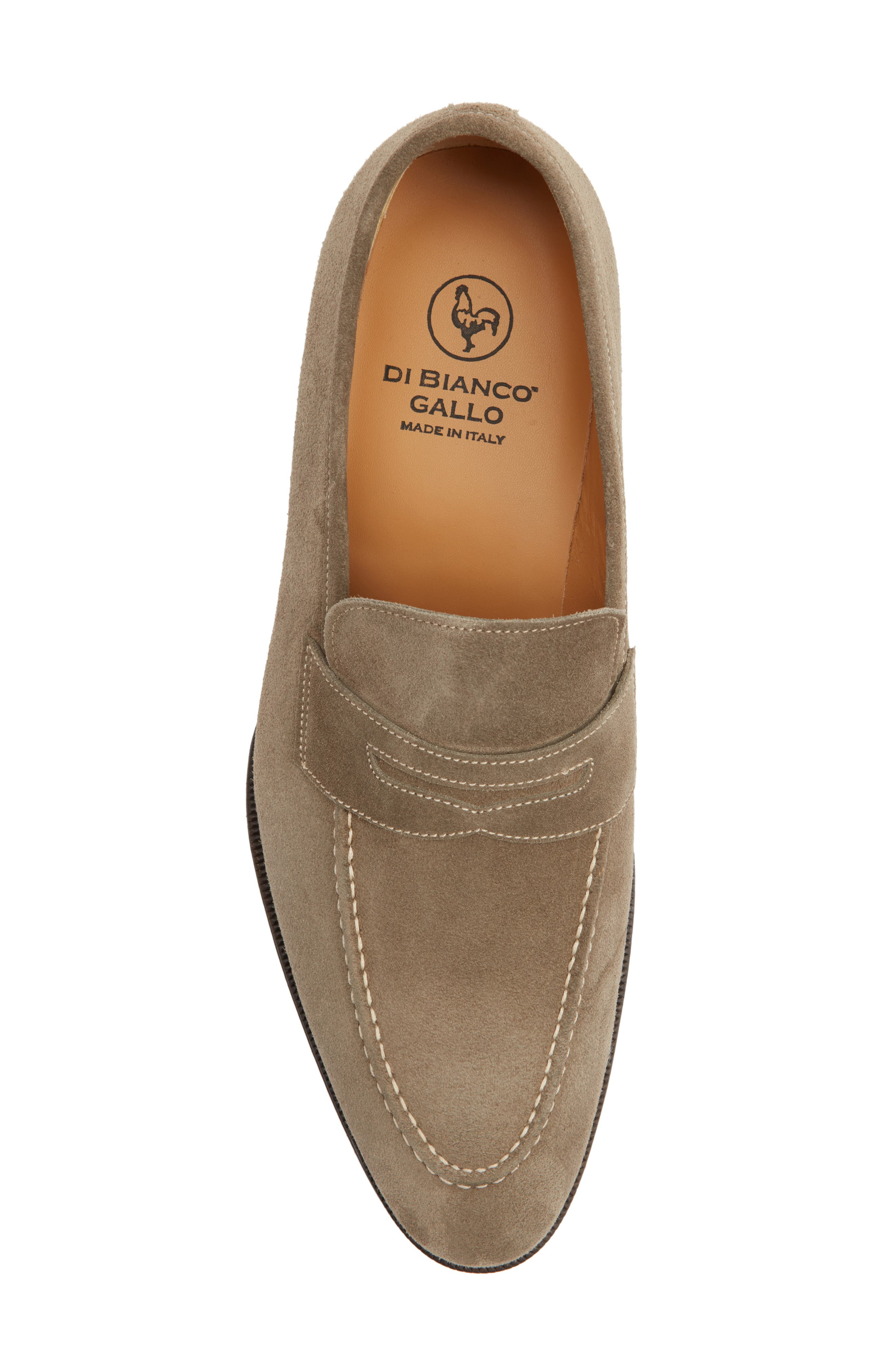 Leather Penny Loafer,                             Alternate thumbnail 22, color,