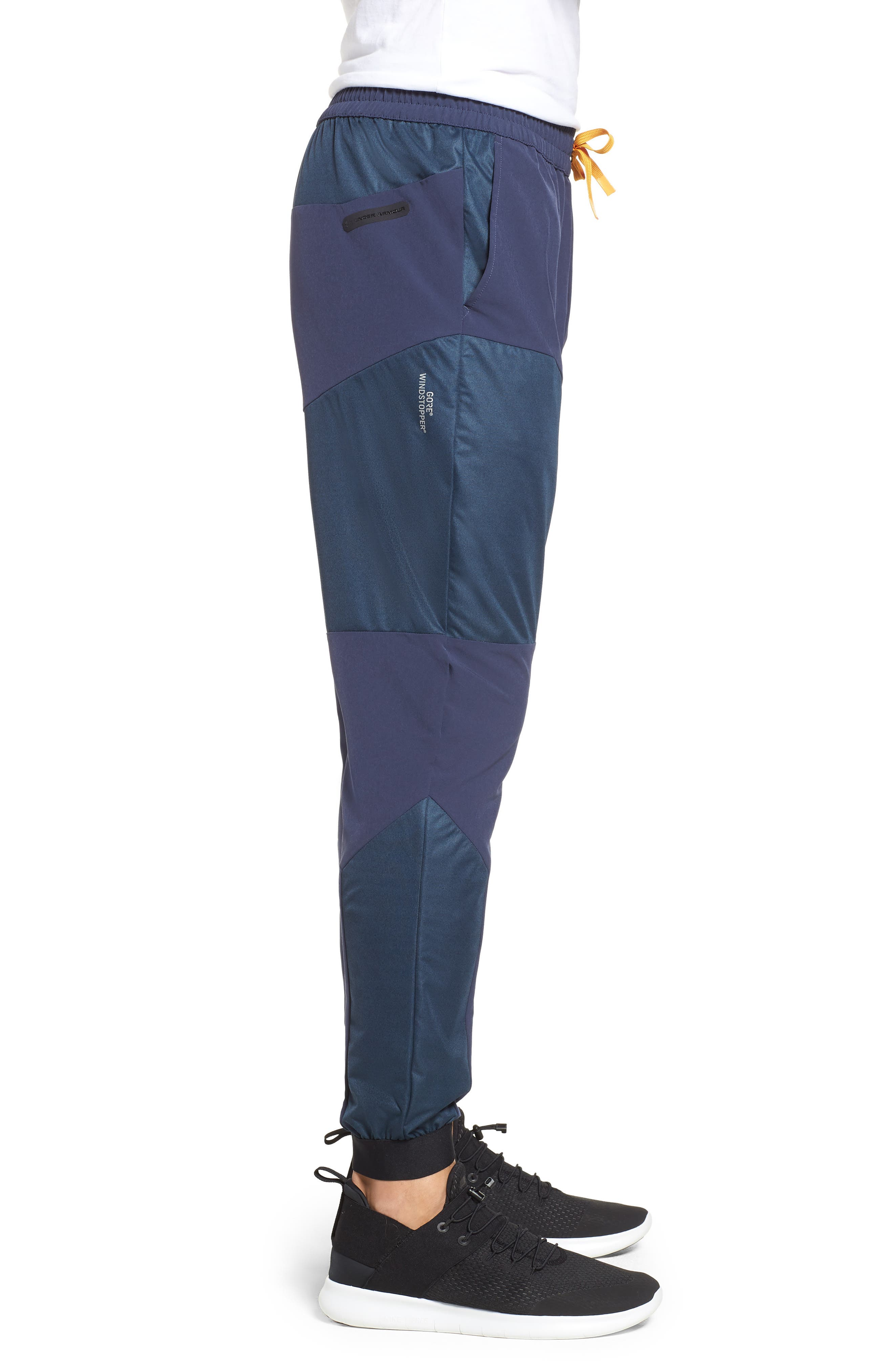Unstoppable GORE<sup>®</sup> WINDSTOPPER<sup>®</sup> Jogger Pants,                             Alternate thumbnail 3, color,                             MIDSUMMER NIGHT / REFLECTIVE
