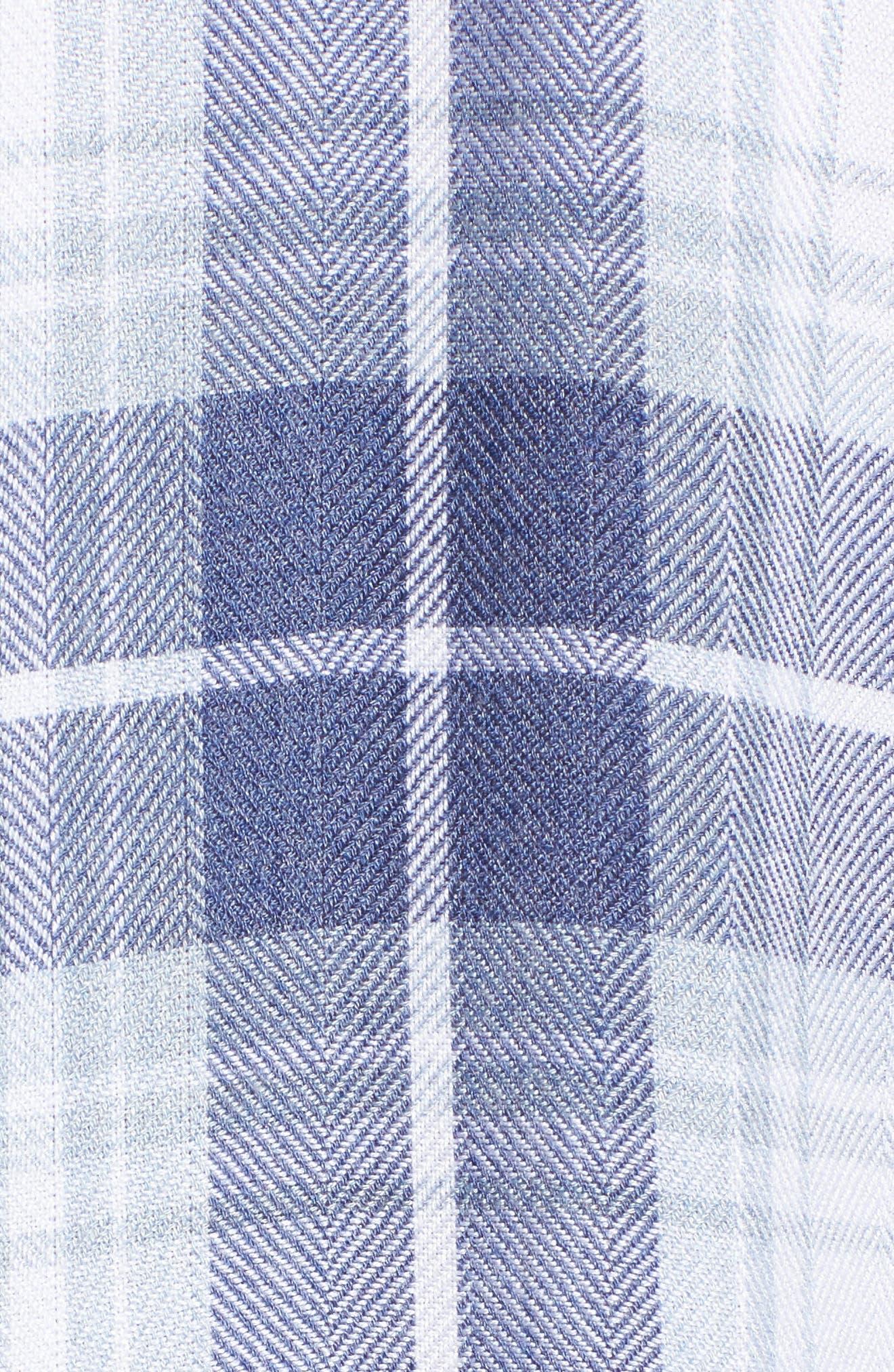 Hunter Plaid Shirt,                             Alternate thumbnail 609, color,