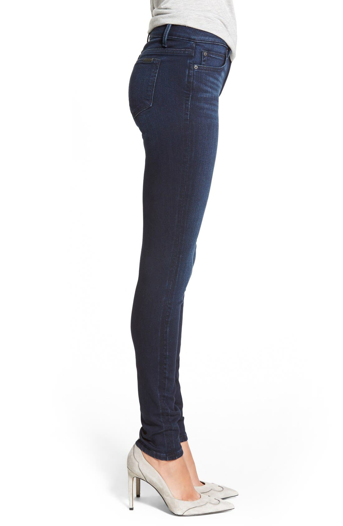 'Flawless - Icon' Skinny Jeans,                             Alternate thumbnail 3, color,                             410