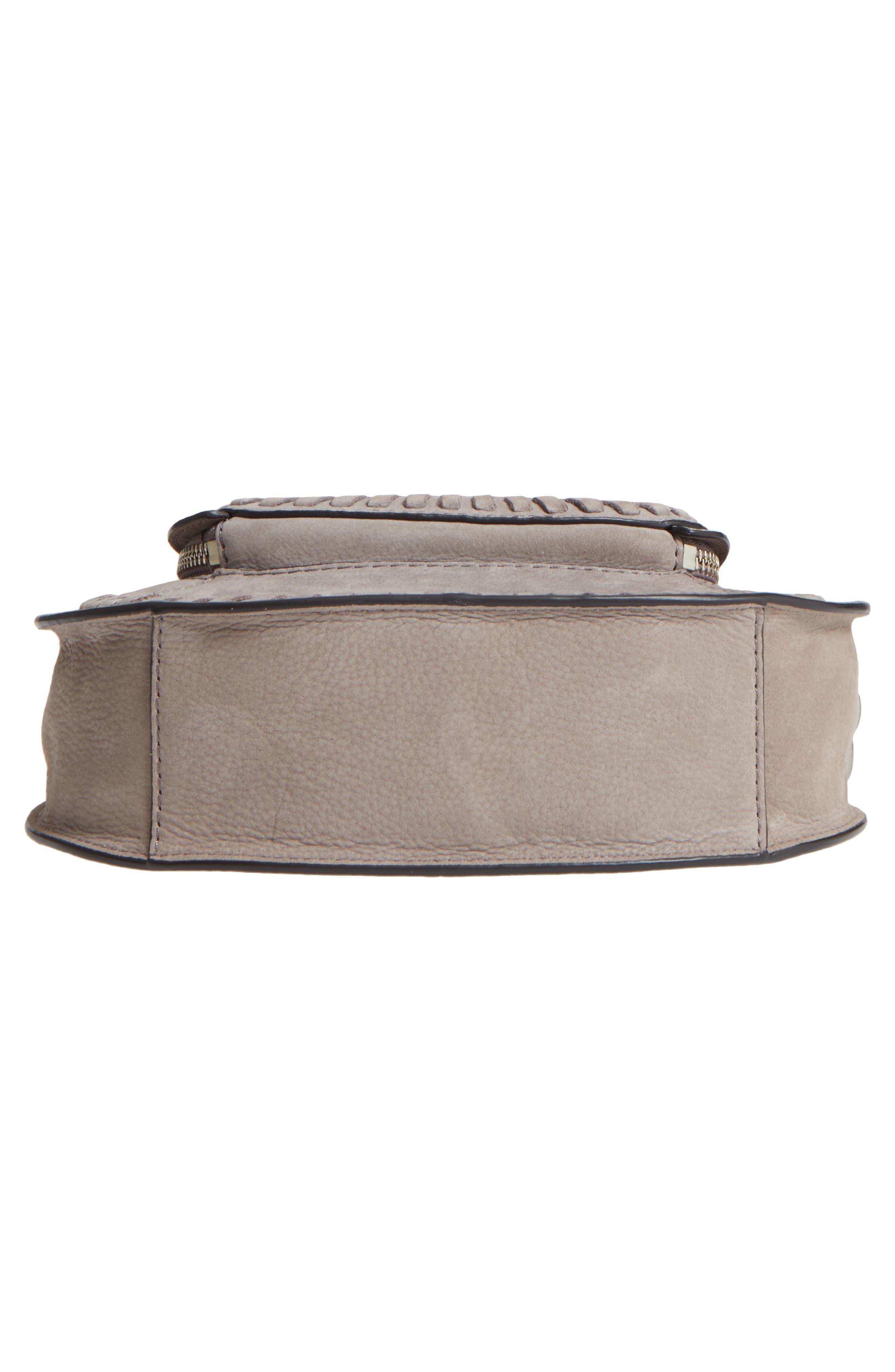 Mini Vanity Saddle Bag,                             Alternate thumbnail 6, color,                             020