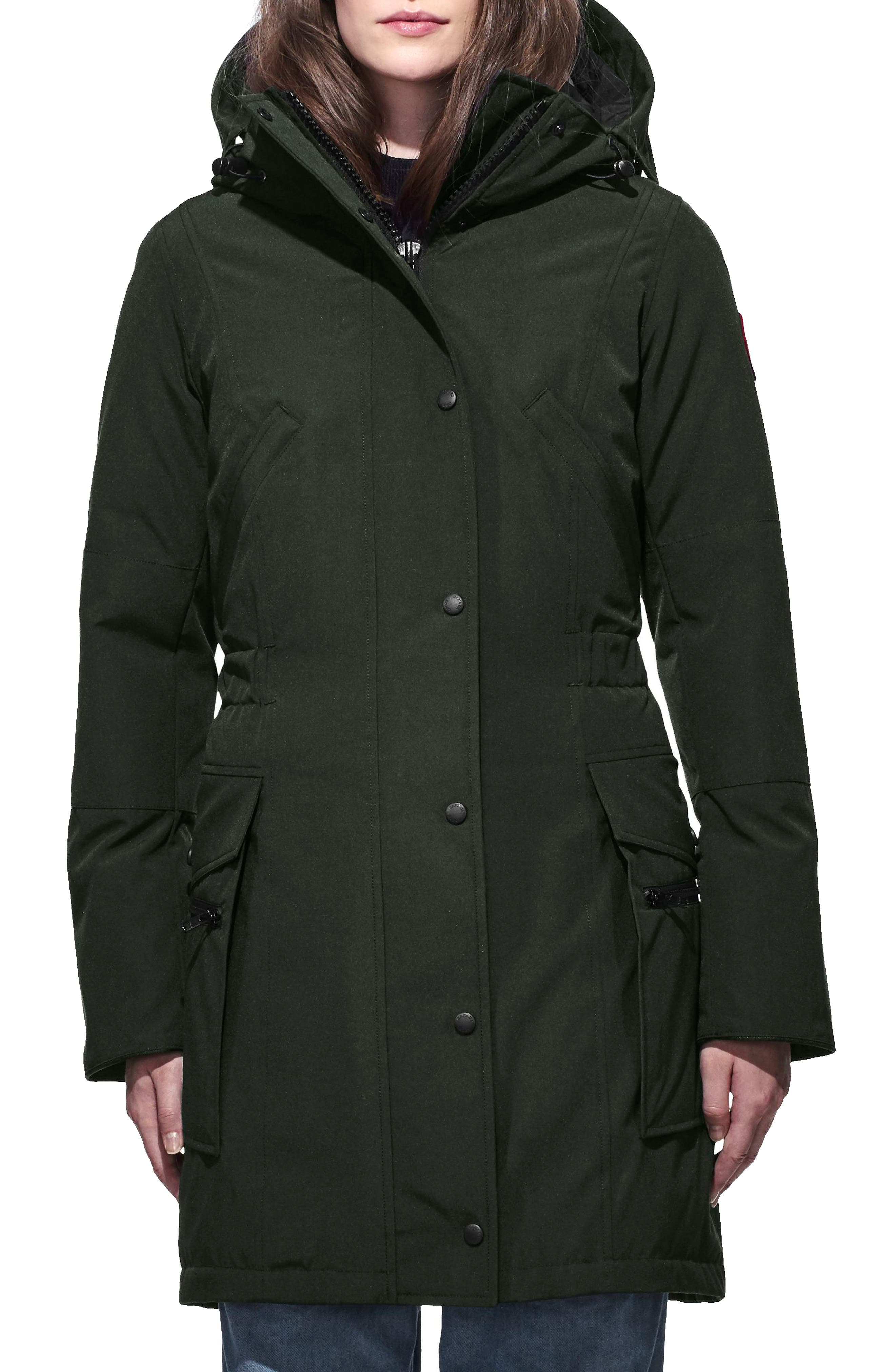 Kinley Insulated Parka,                         Main,                         color, VOLCANO