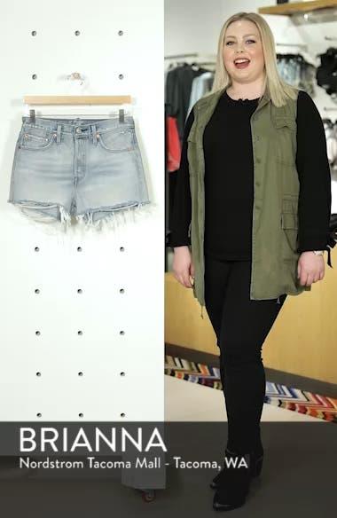 501<sup>®</sup> High Waist Denim Shorts, sales video thumbnail