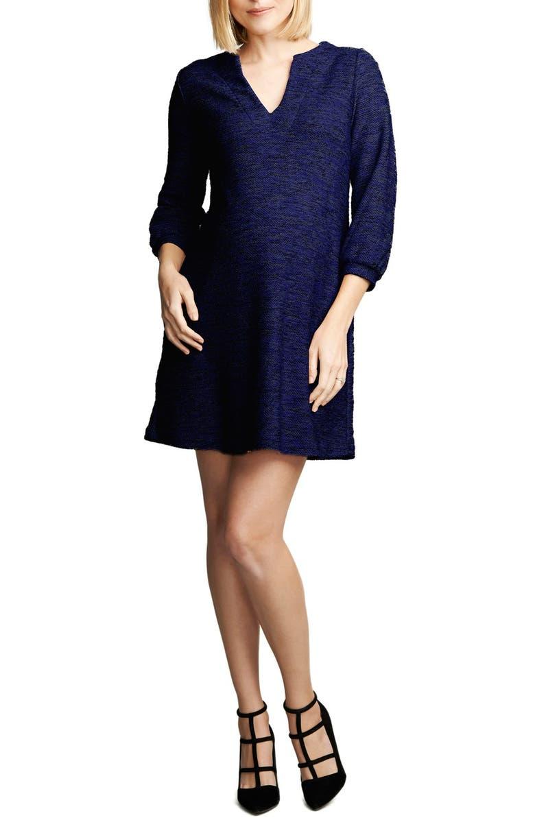 4c35cbec121 Maternal America Shift Maternity Dress