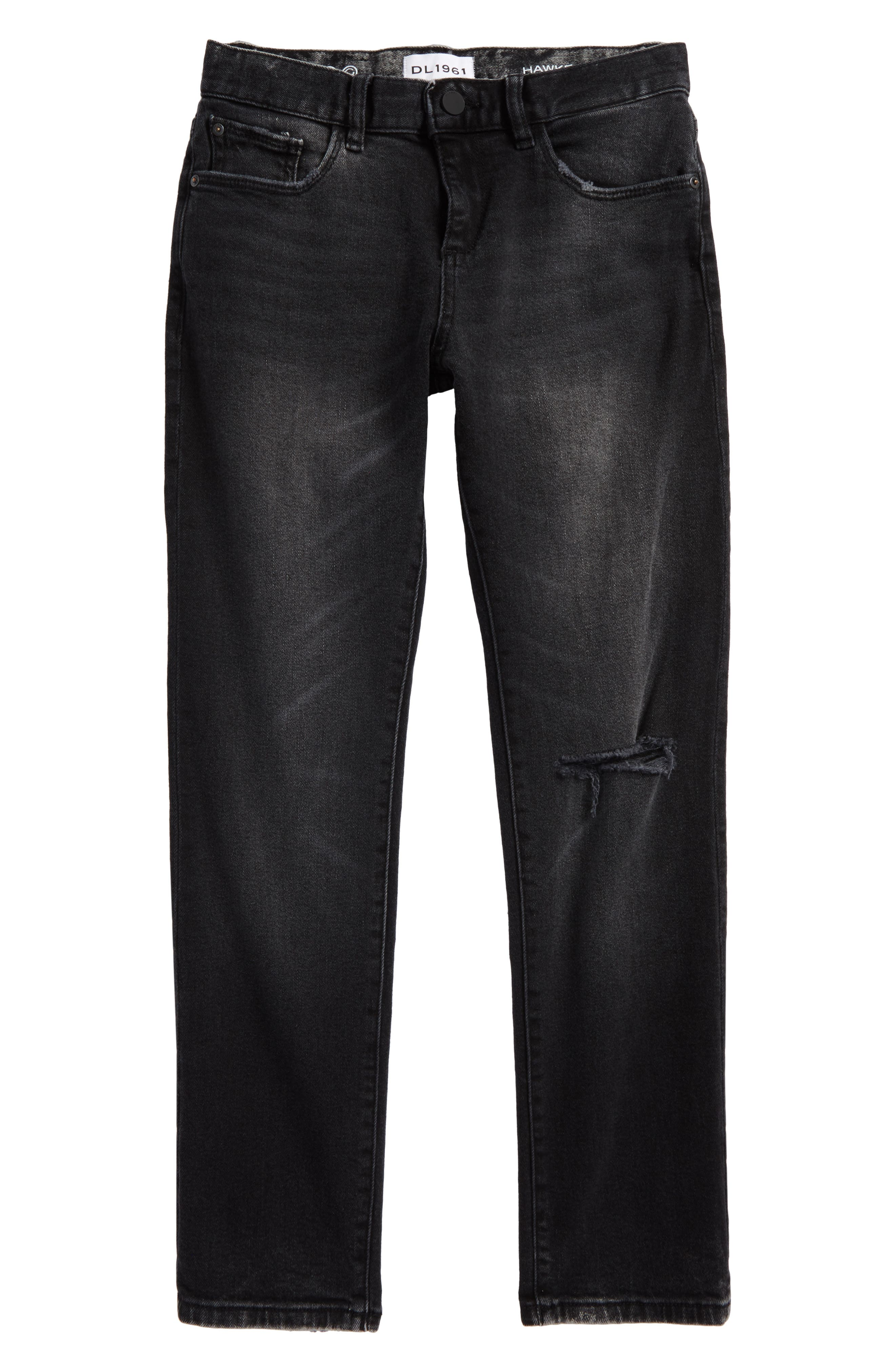 DL1961 Hawke Skinny Jeans, Main, color, 020