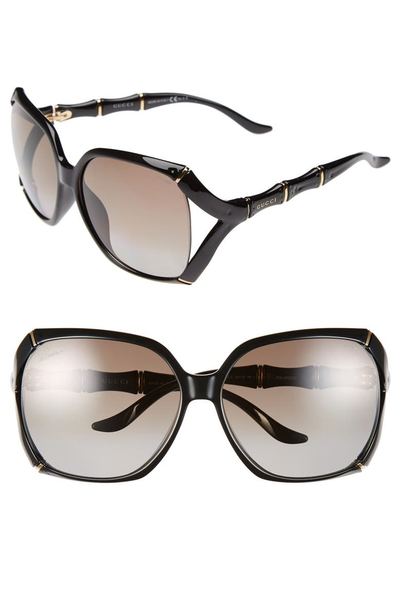 8a381643499 Gucci 58mm Polarized Sunglasses