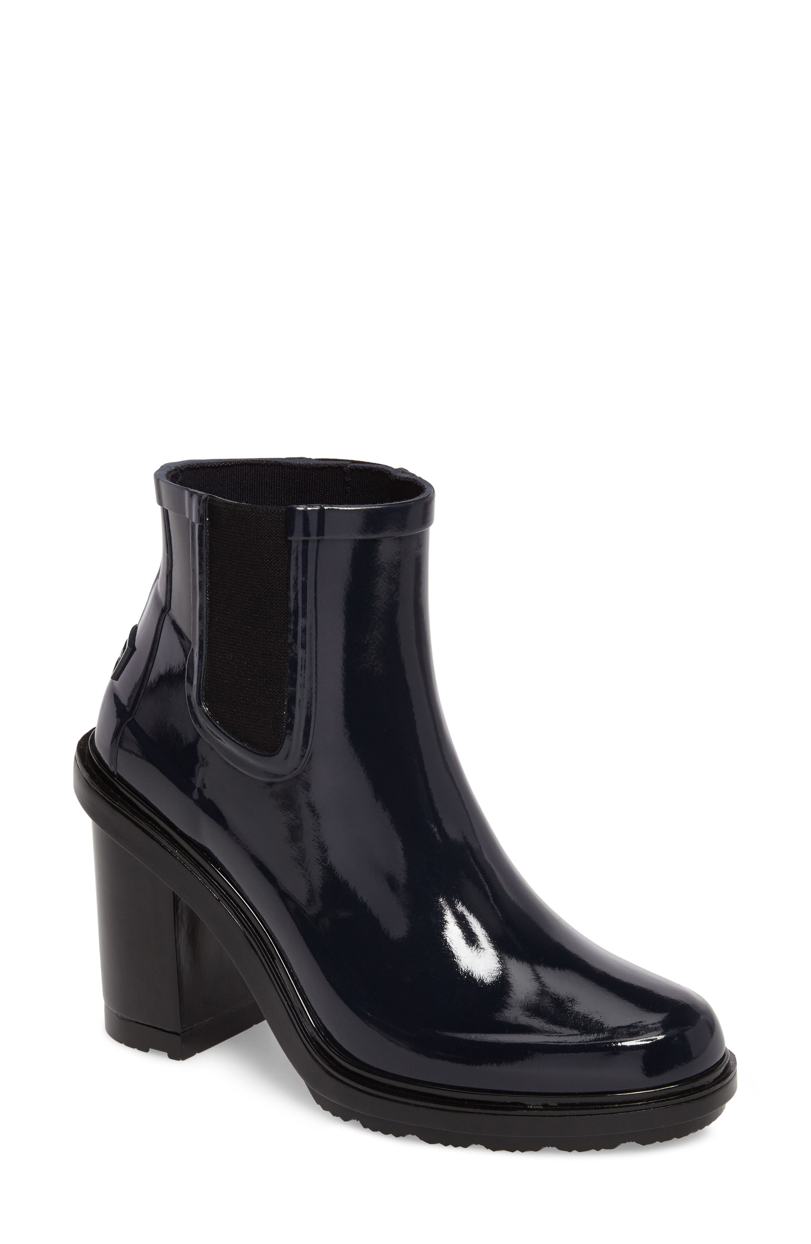 'Original Refined' Chelsea Rain Boot,                             Main thumbnail 1, color,