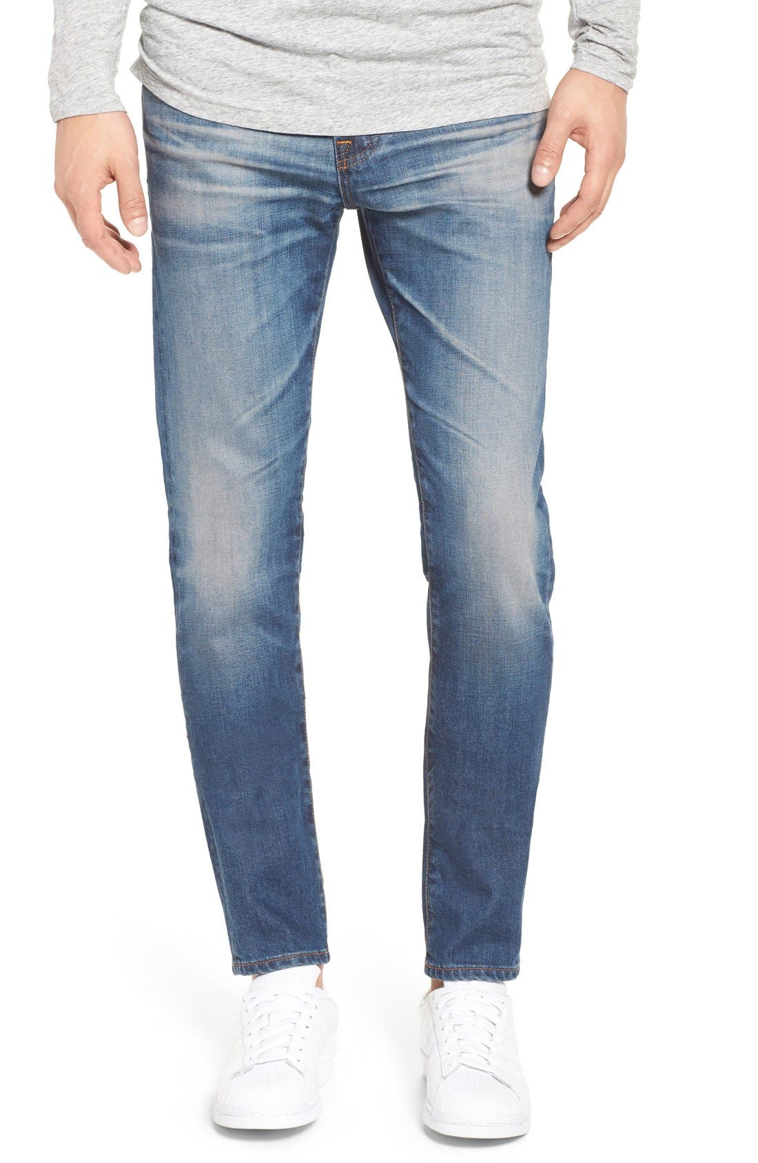 AG 'Stockton' Skinny Fit Jeans, Main, color, 425