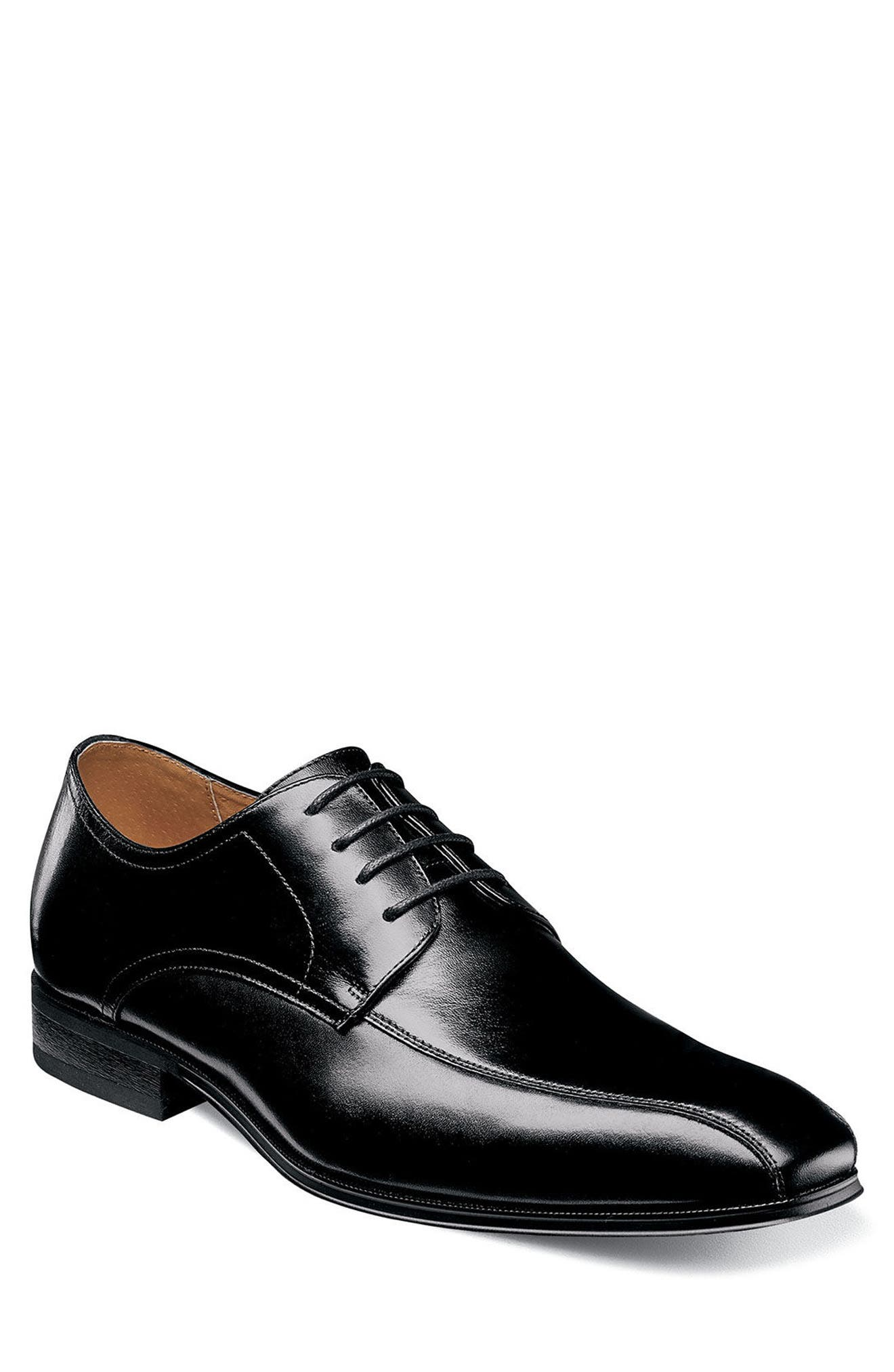 Corbetta Bicycle Toe Derby,                             Main thumbnail 1, color,                             BLACK