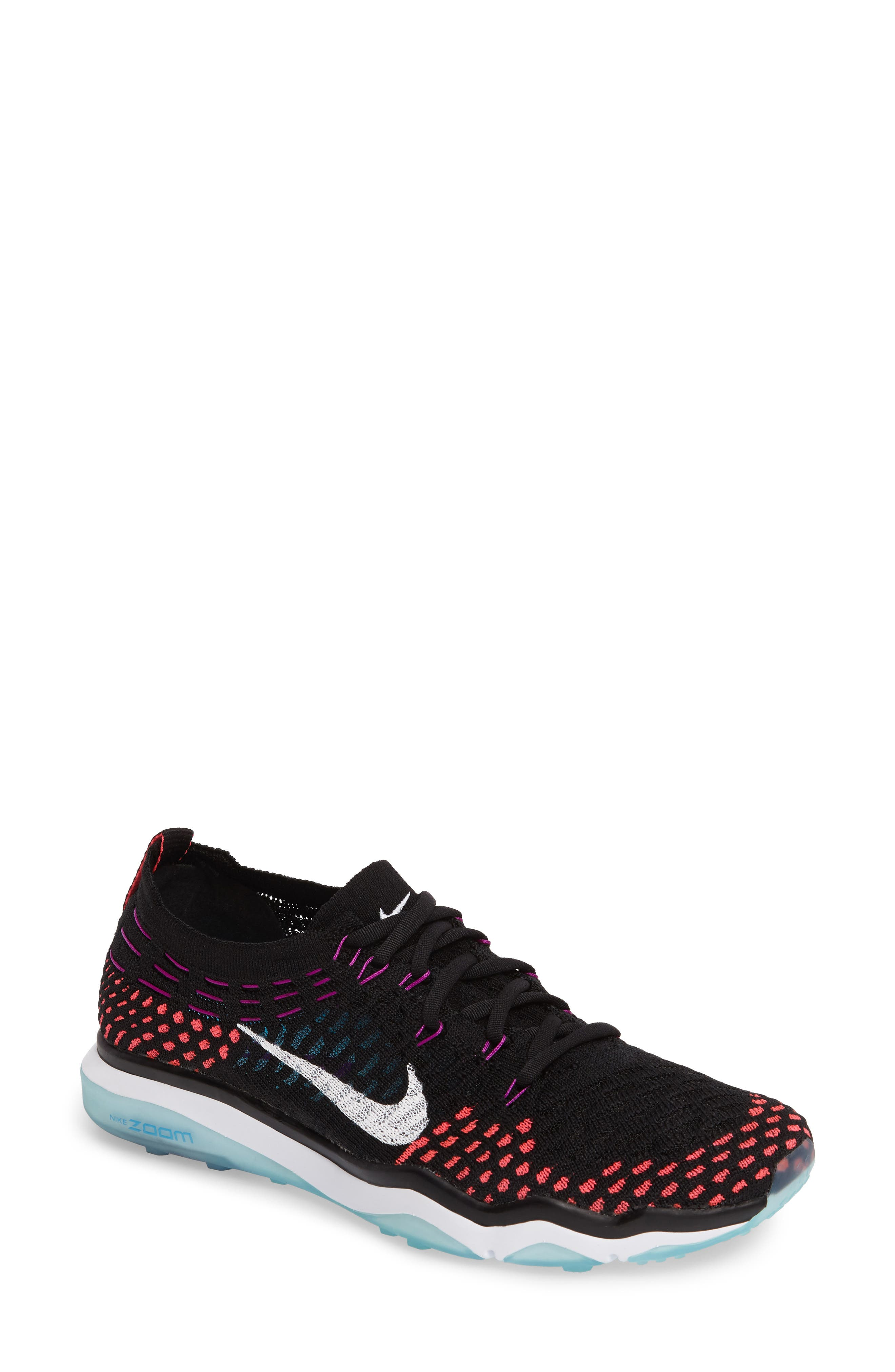 Air Zoom Fearless Flyknit Training Shoe,                             Main thumbnail 6, color,