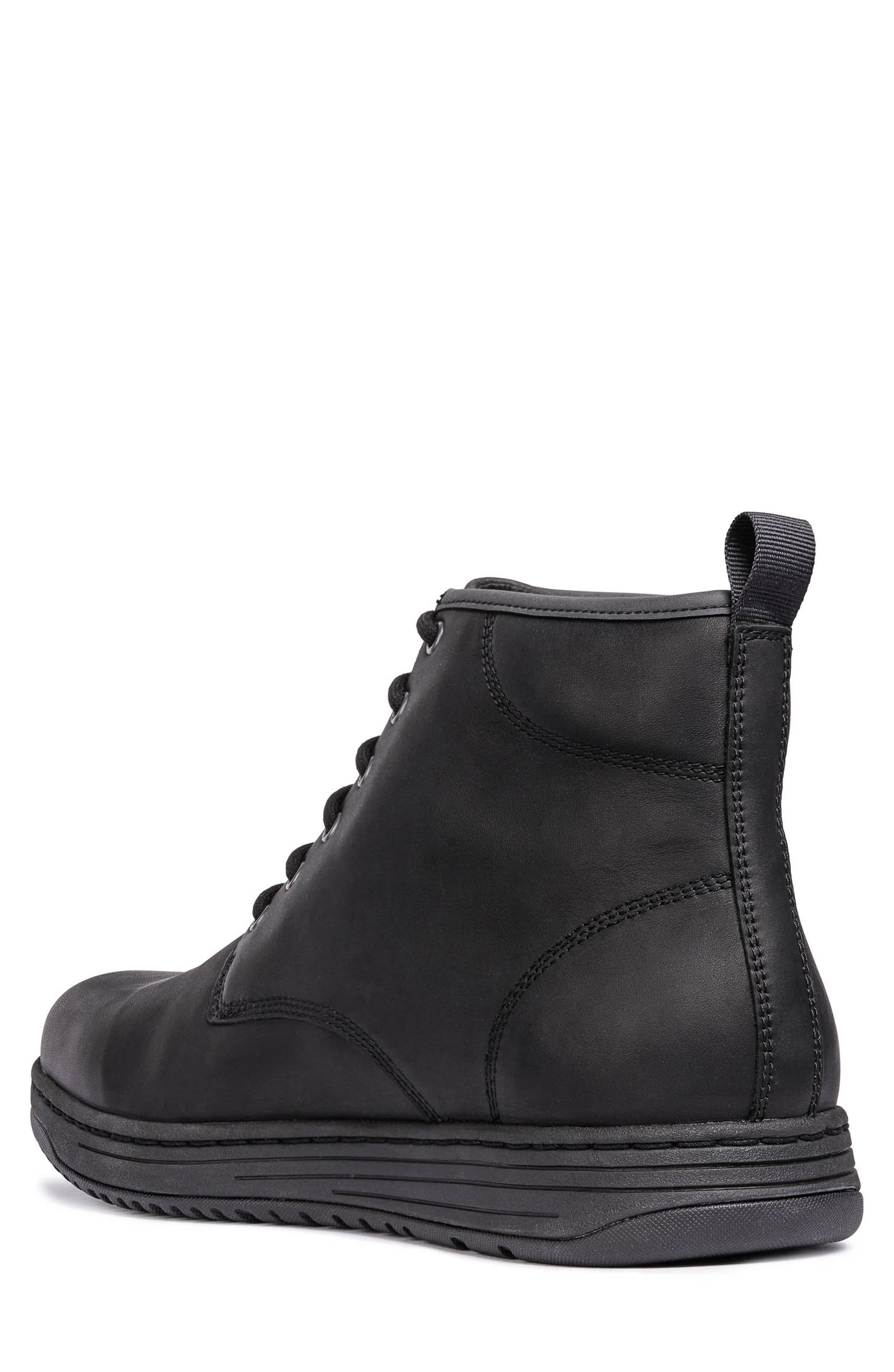 Abroad ABX 2 Tall Lace-Up Boot,                             Alternate thumbnail 2, color,                             BLACK