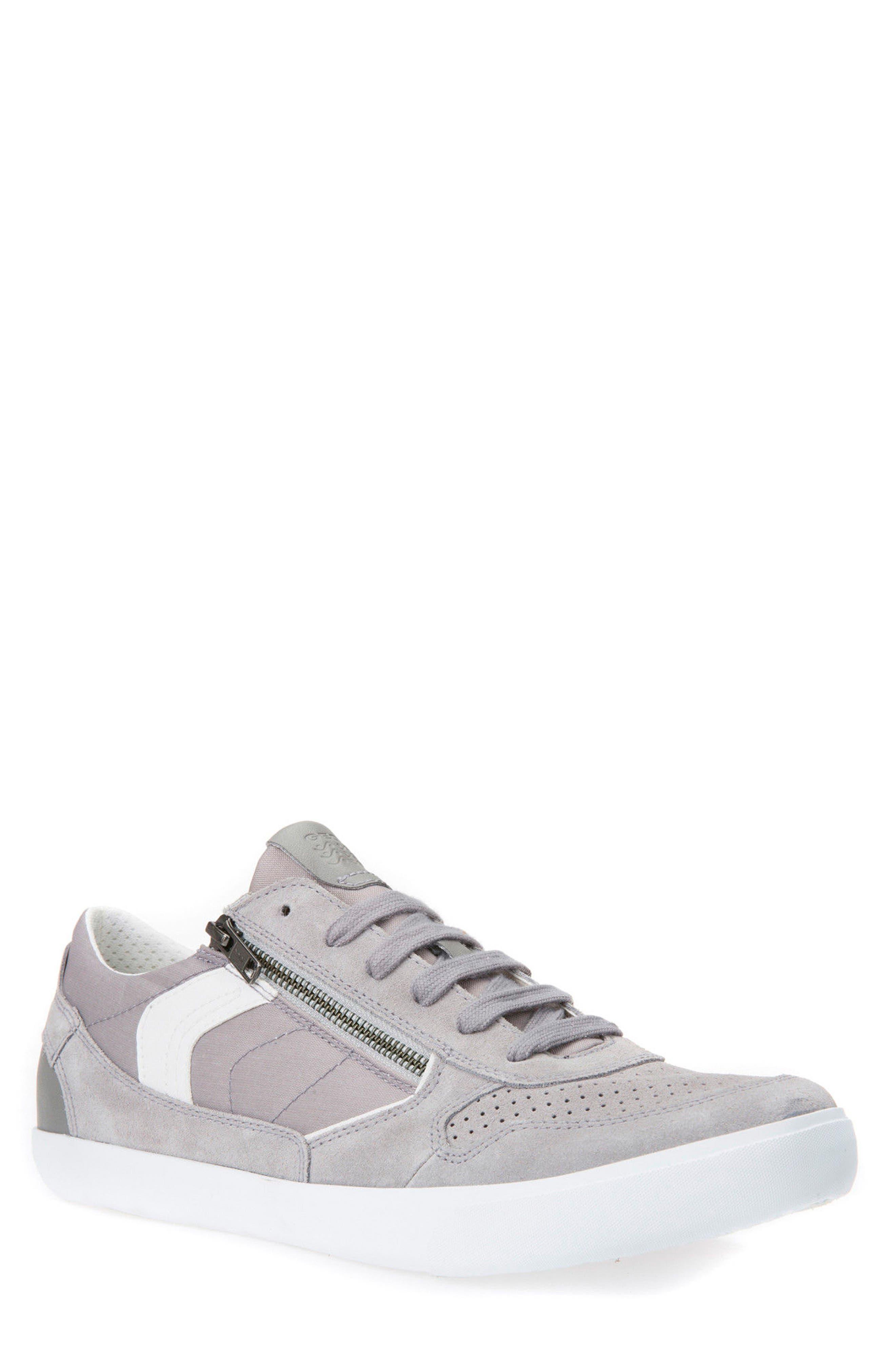 Box 33 Low Top Zip Sneaker,                             Main thumbnail 1, color,                             030