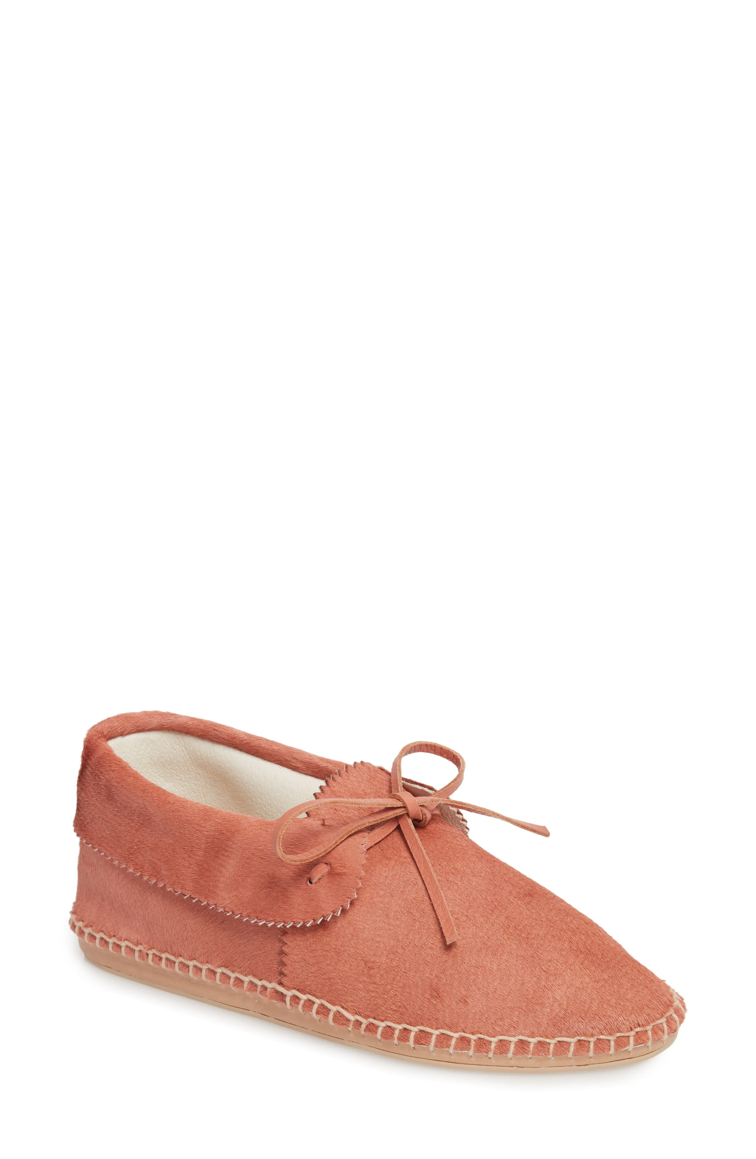 Canyon Moccasin Flat,                             Main thumbnail 1, color,                             DUSTY ROSE