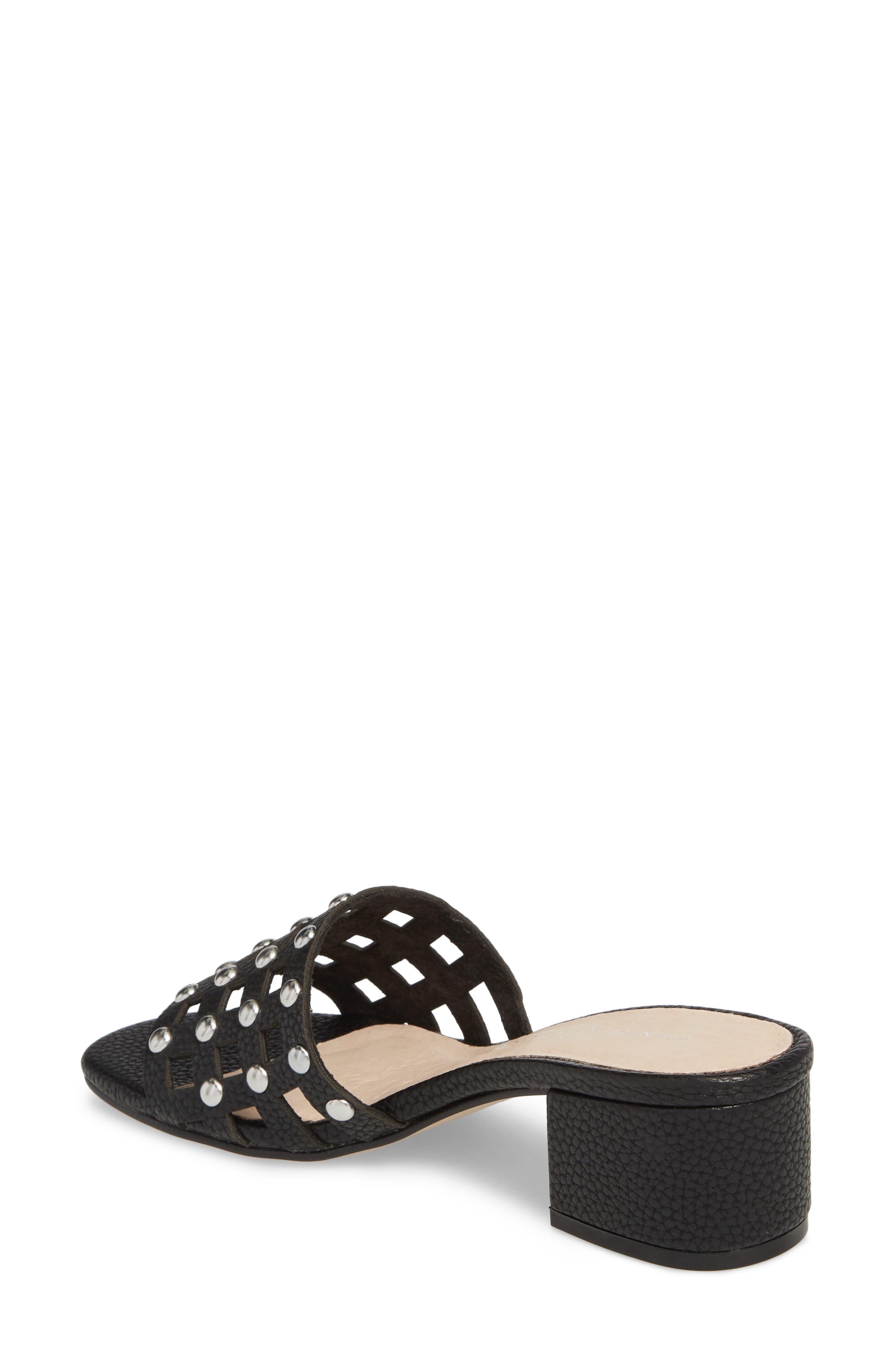 Megs Slide Sandal,                             Alternate thumbnail 2, color,                             BLACK
