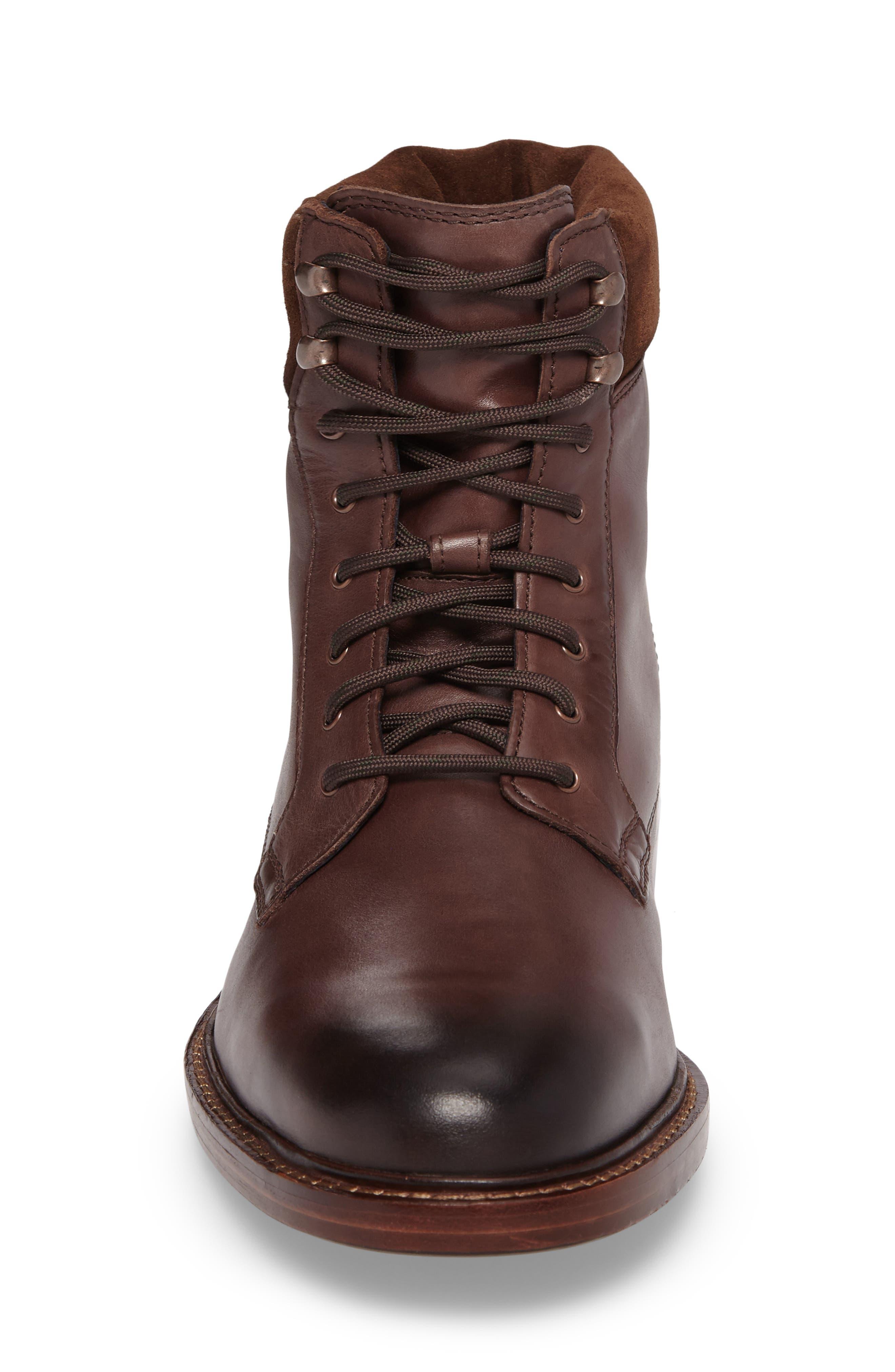 Tyler Grand Plain Toe Boot,                             Alternate thumbnail 4, color,                             205