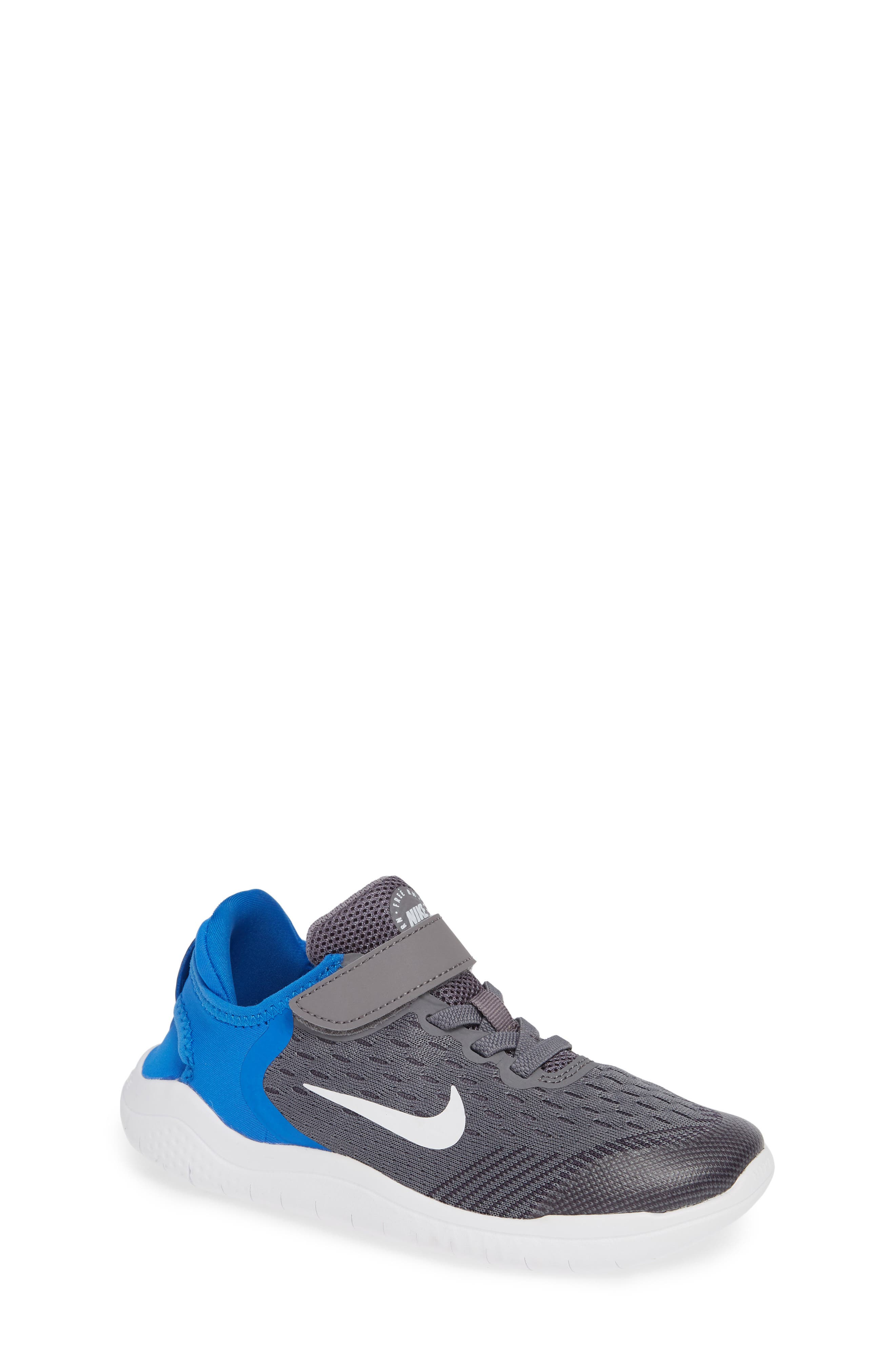 Free RN Running Shoe,                             Main thumbnail 1, color,                             GREY/WHITE/BLUE