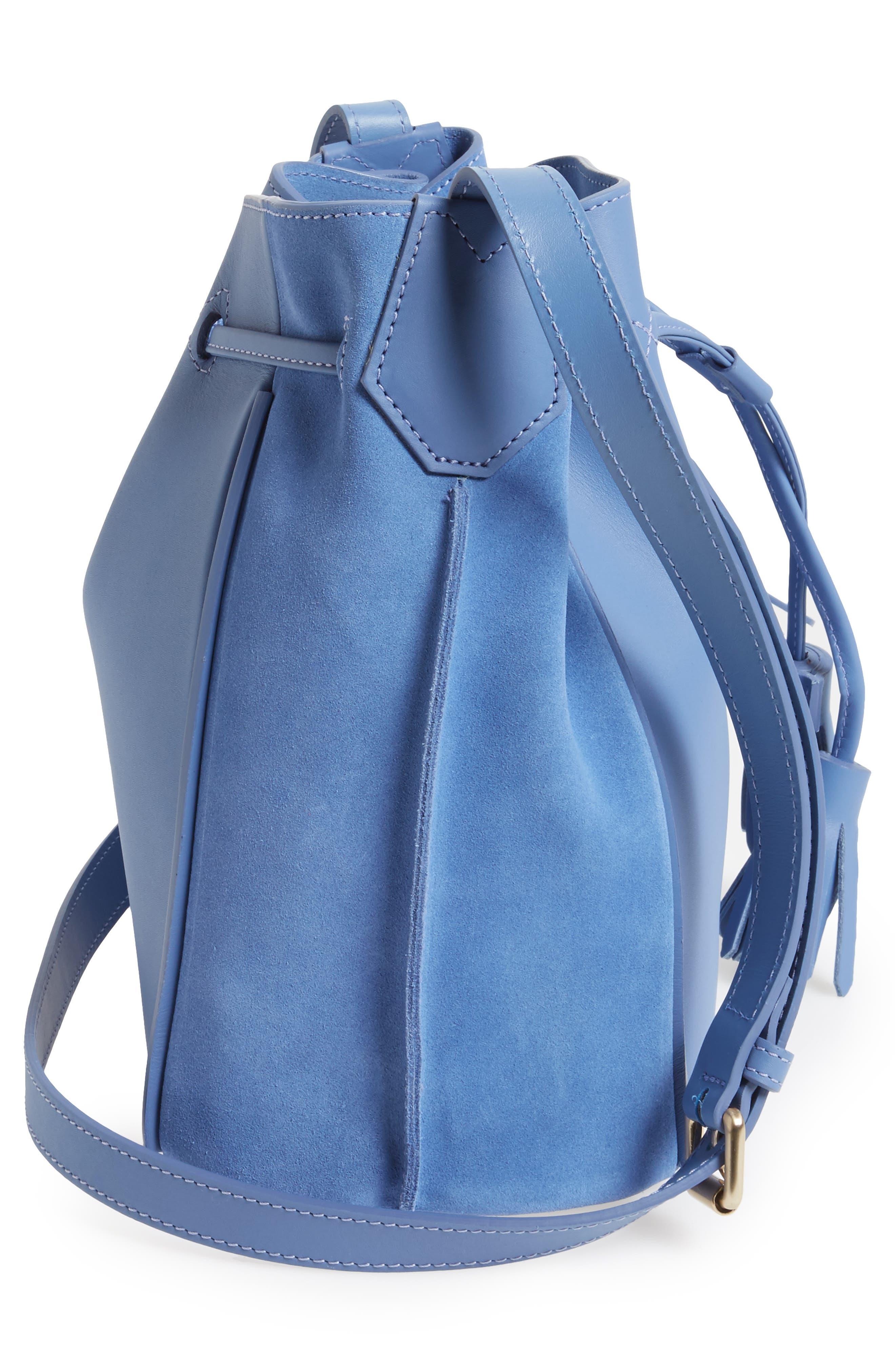 Penelope Fantasie Leather Bucket Bag,                             Alternate thumbnail 15, color,
