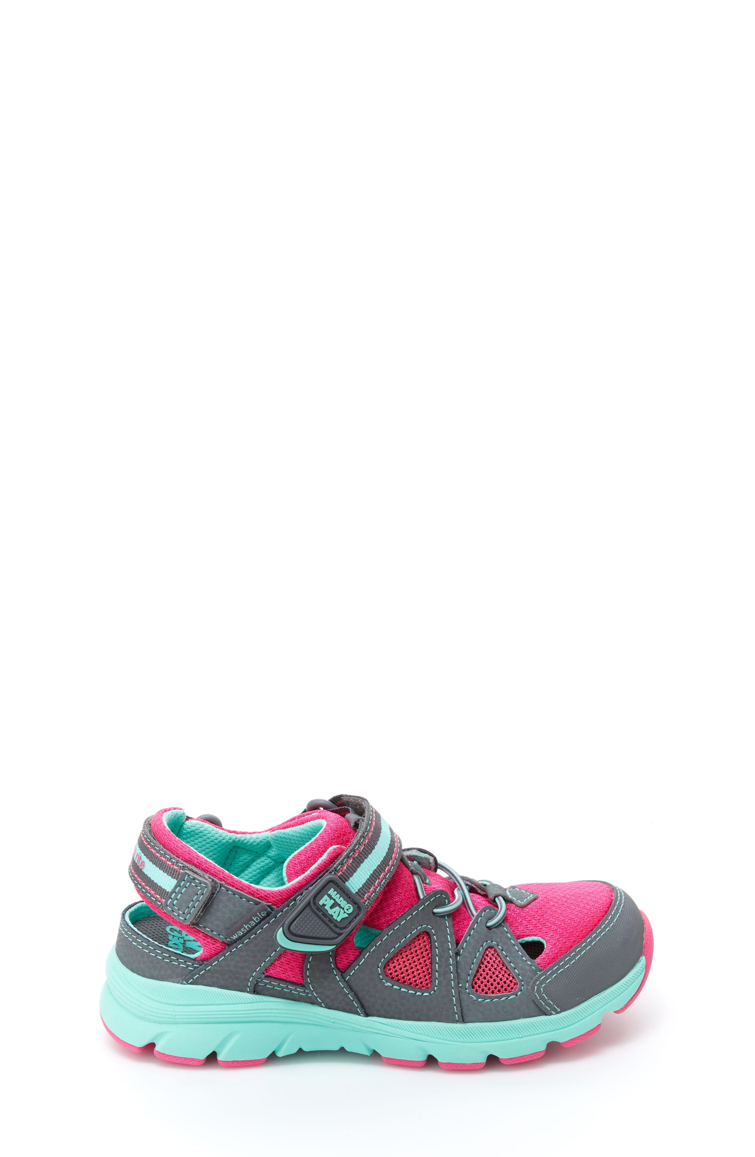 STRIDE RITE,                             Made2Play<sup>®</sup> Ryder Washable Sneaker,                             Alternate thumbnail 3, color,                             020