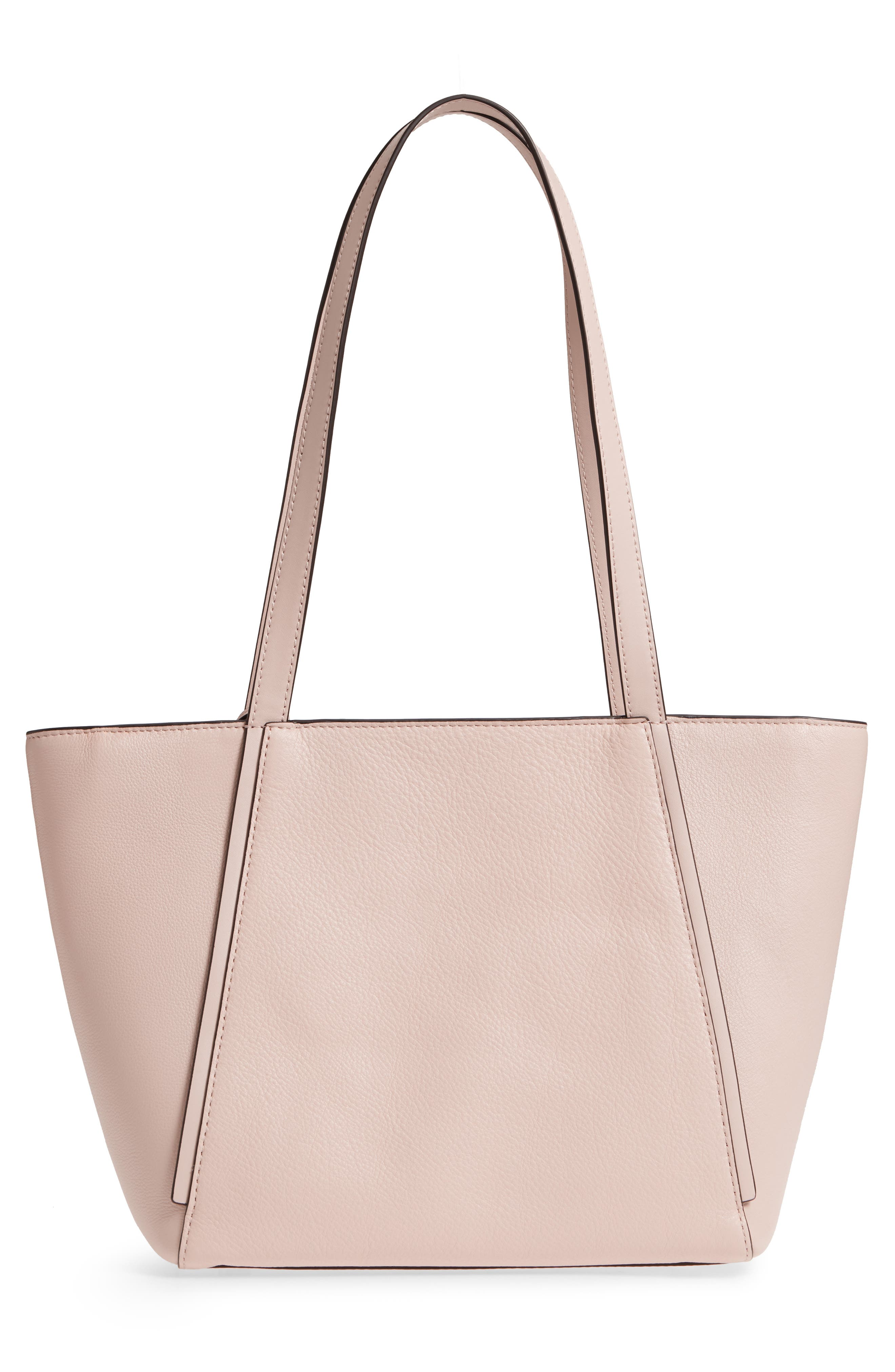 Small Whitney Leather Tote,                             Alternate thumbnail 12, color,
