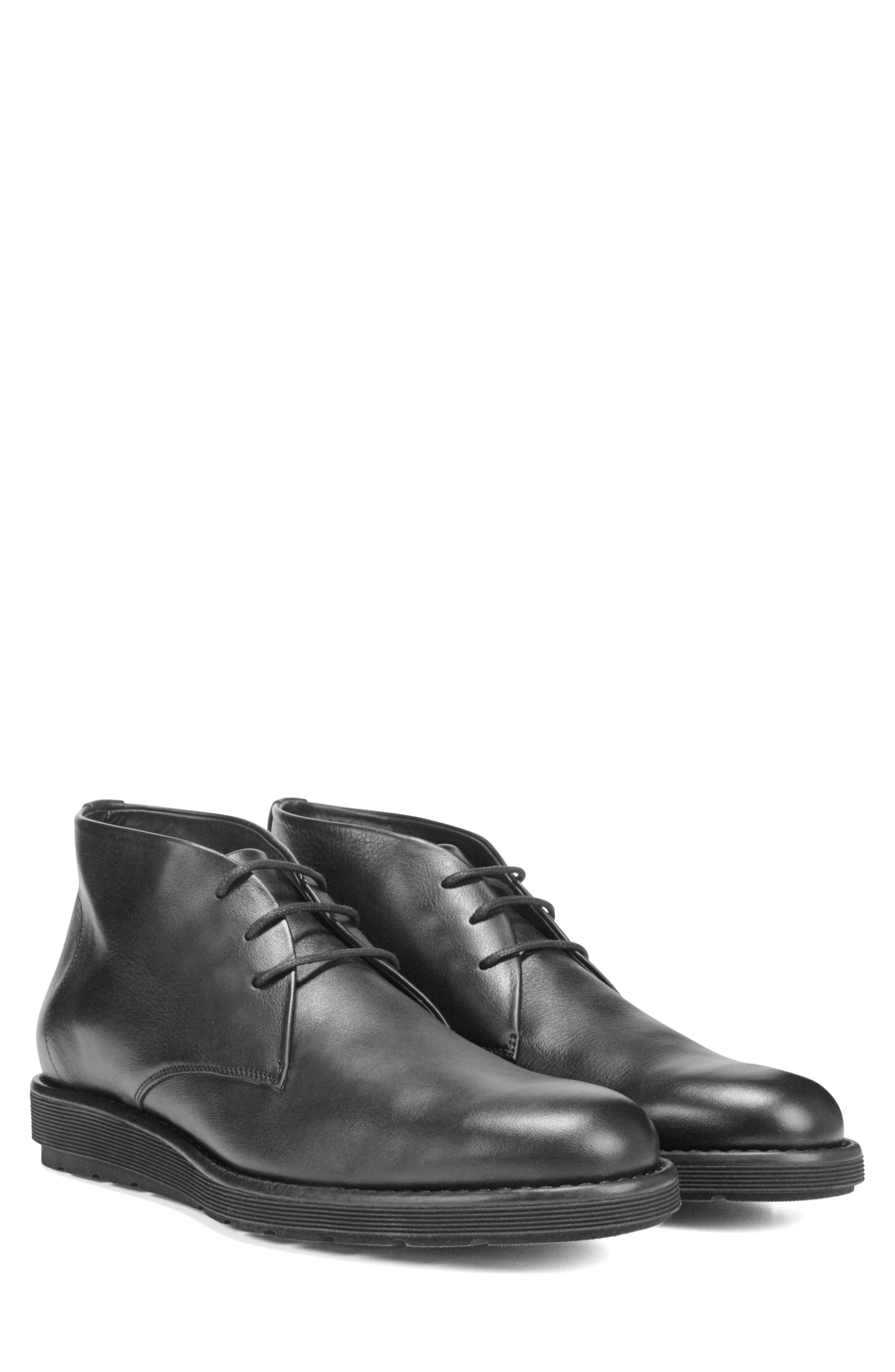 Walden Chukka Boot,                             Alternate thumbnail 8, color,                             BLACK