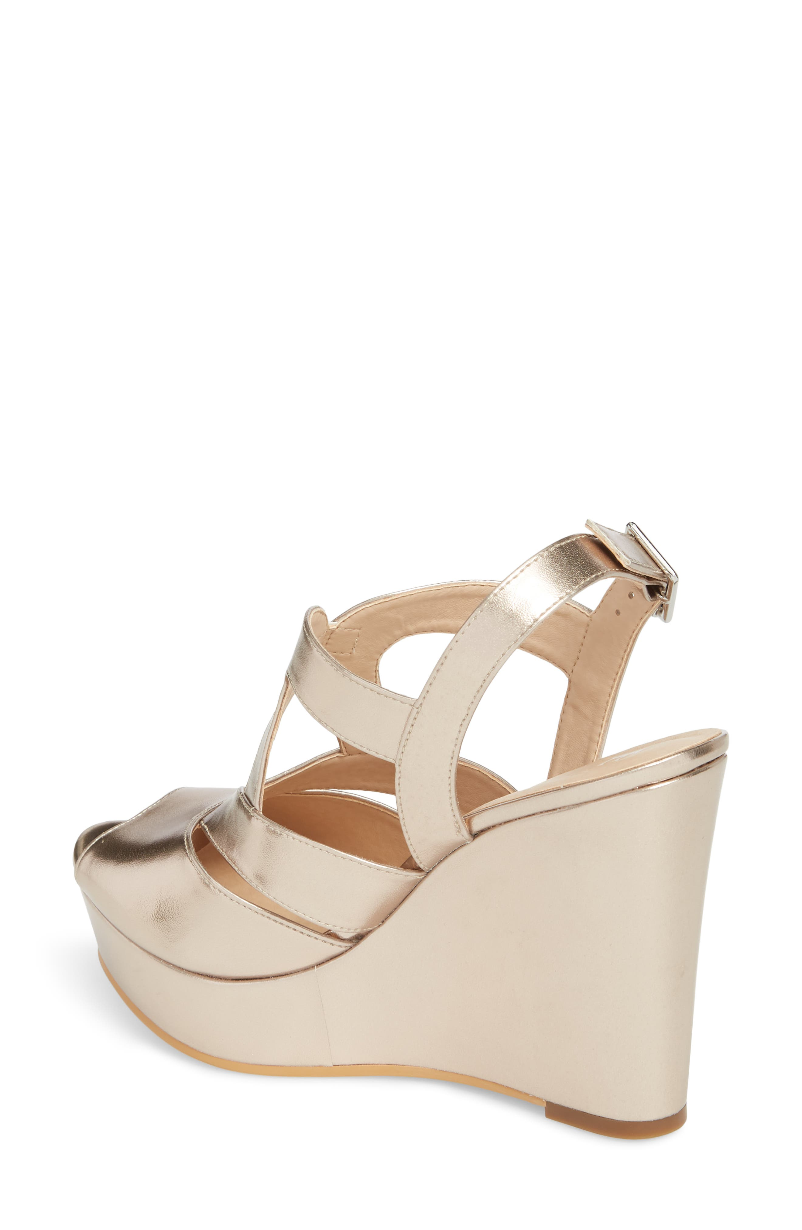 Sunny Platform Wedge Sandal,                             Alternate thumbnail 8, color,