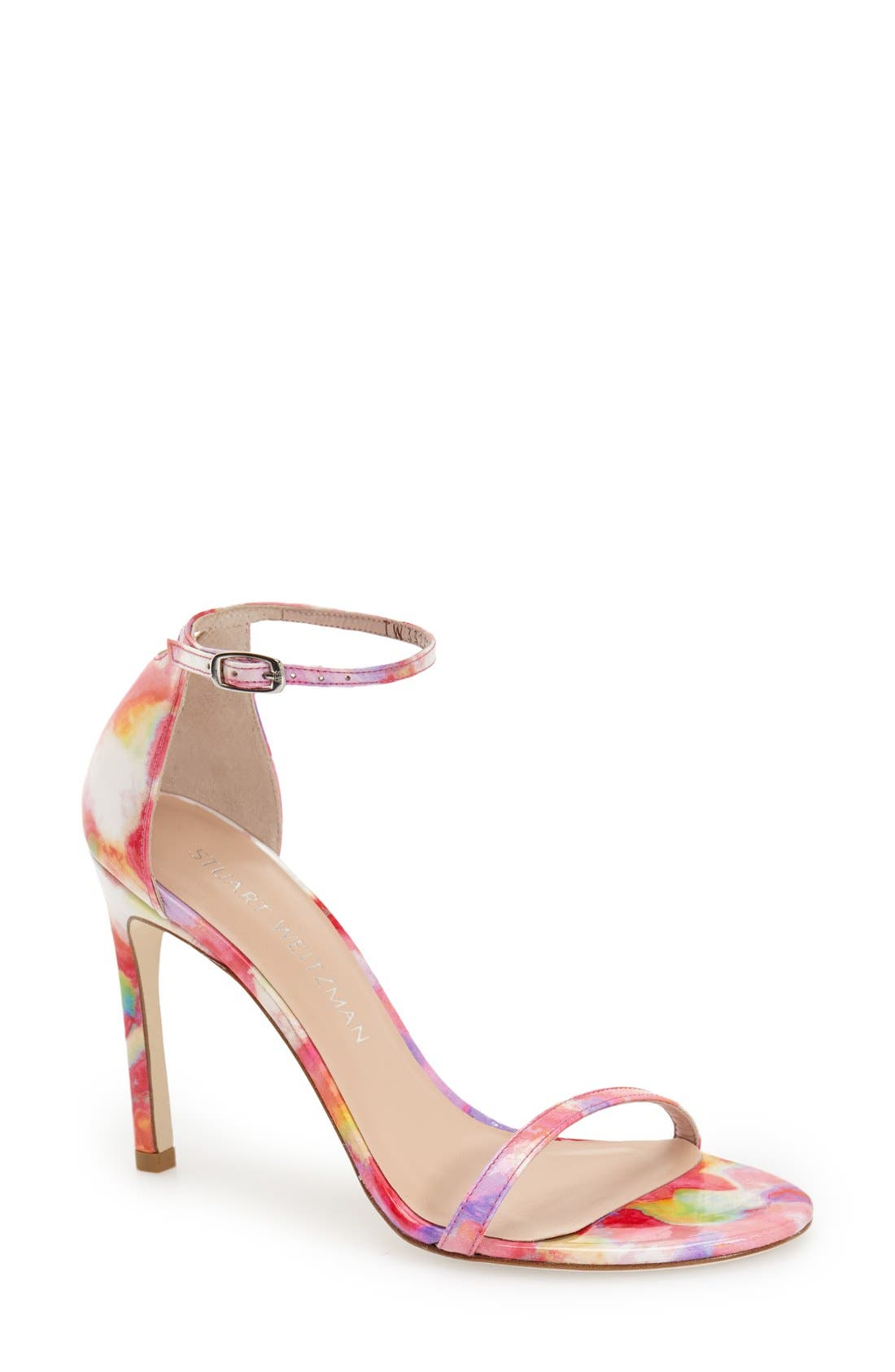 Nudistsong Ankle Strap Sandal,                             Main thumbnail 35, color,