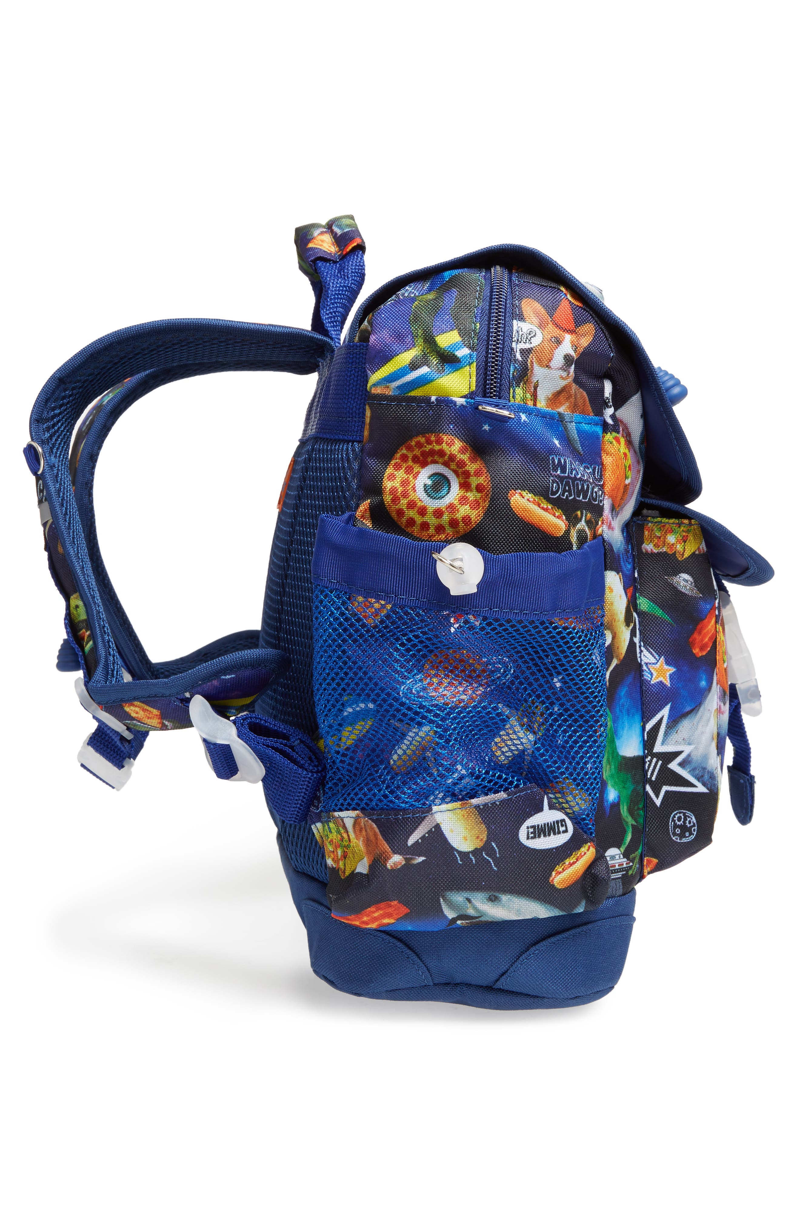 Meme Space Odyssey Backpack,                             Alternate thumbnail 4, color,                             400