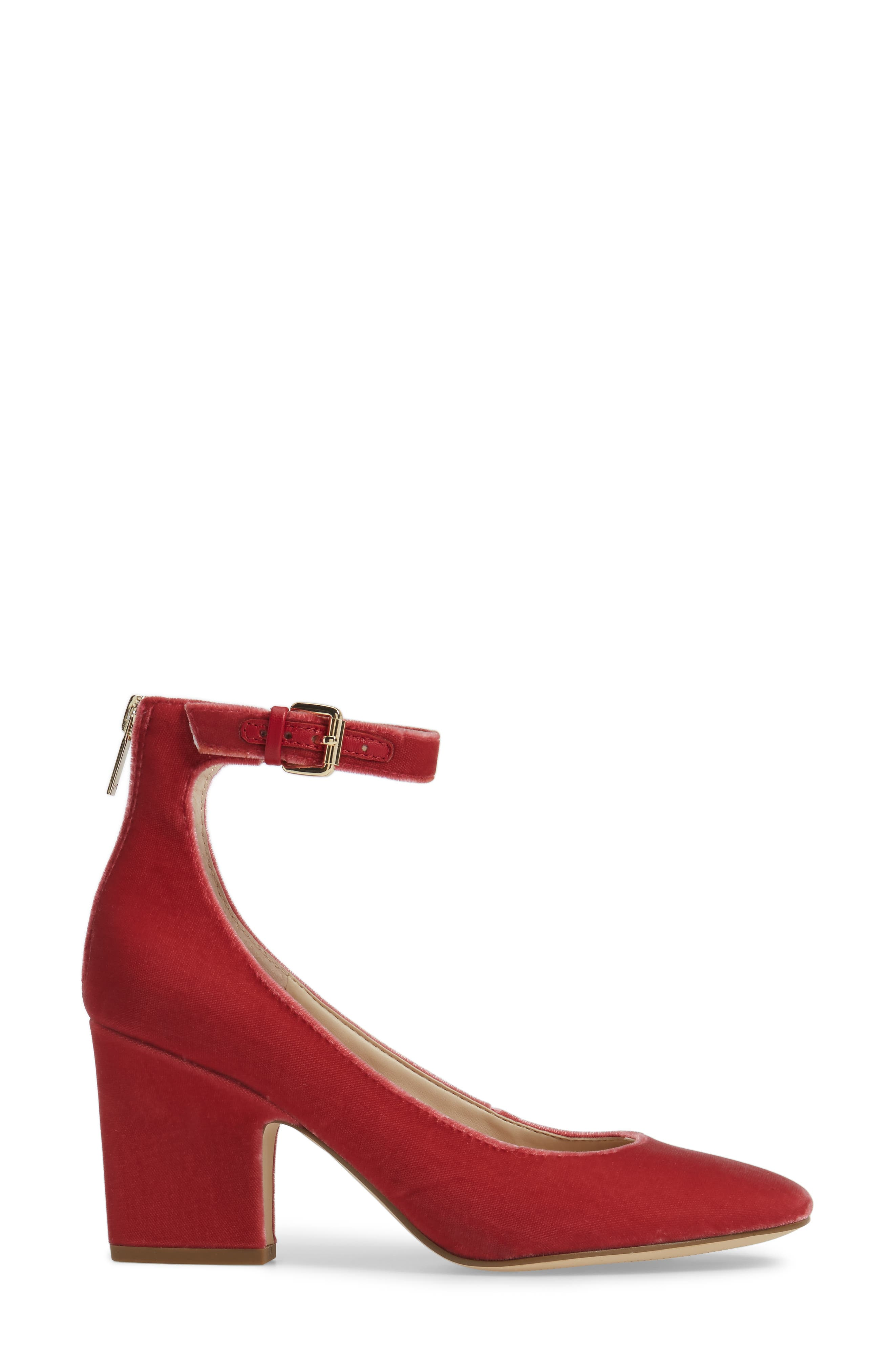 Anisy Ankle Strap Pump,                             Alternate thumbnail 15, color,