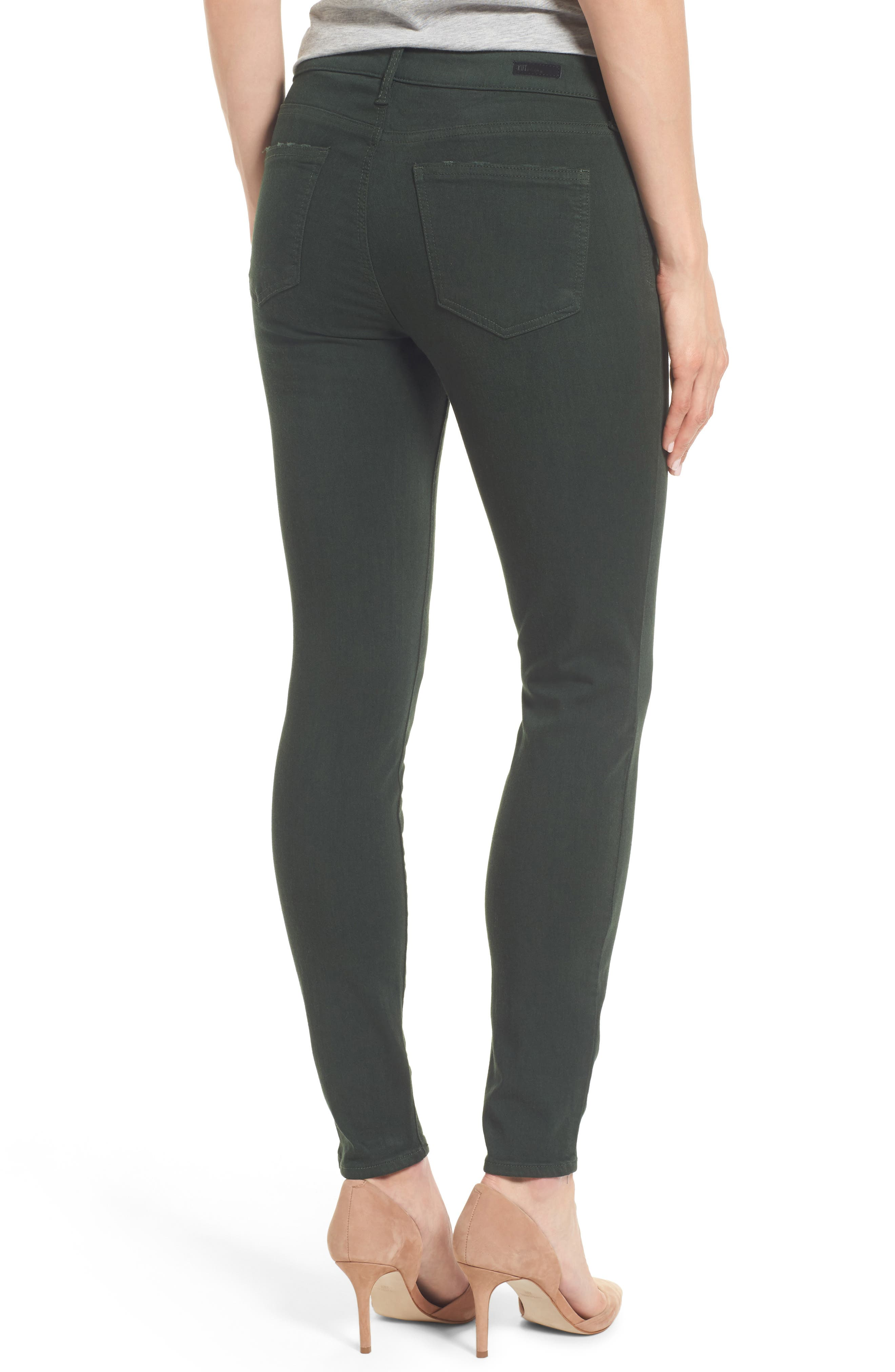 Mia Ankle Skinny Jeans,                             Alternate thumbnail 2, color,                             350