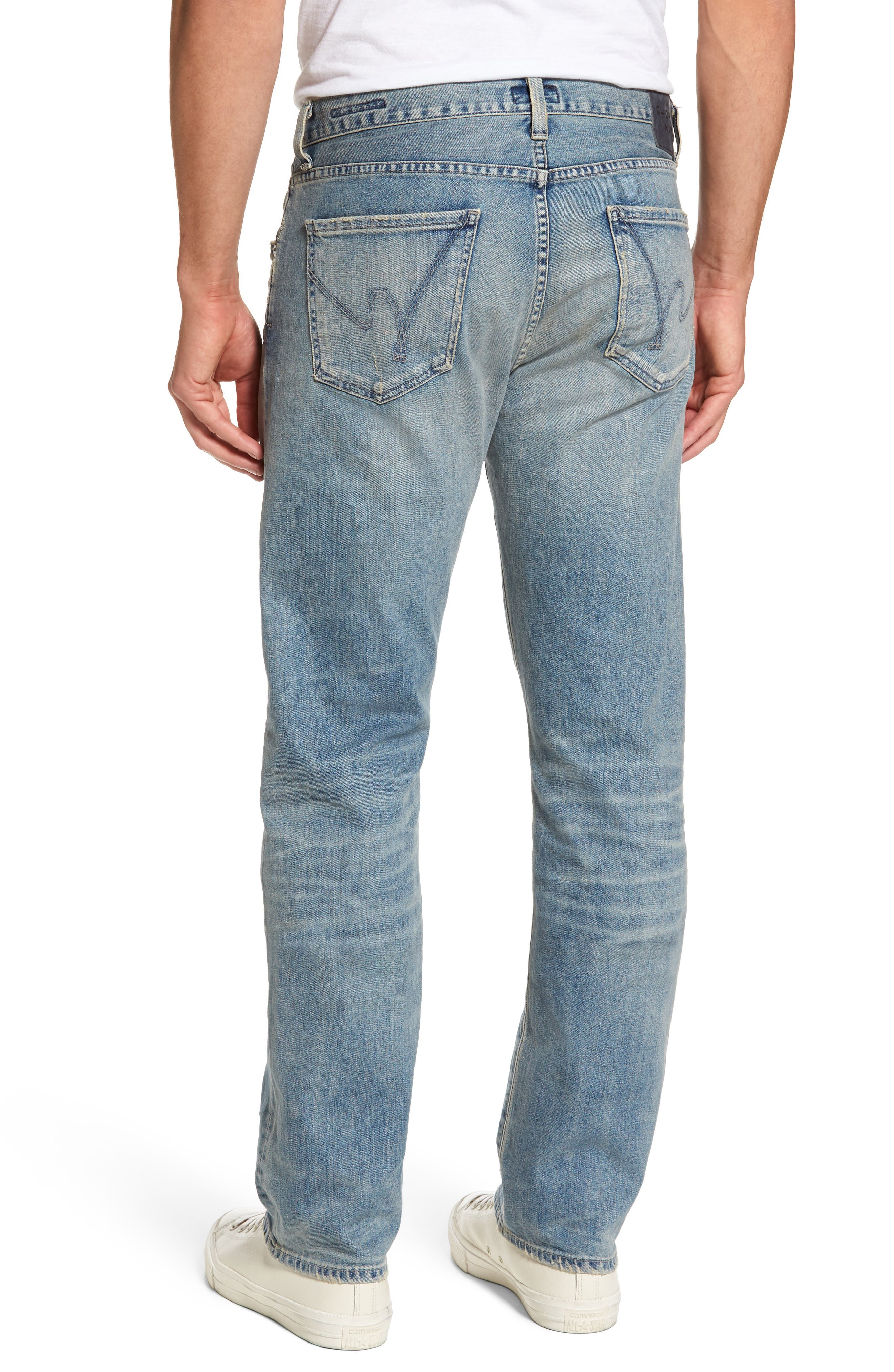 Sid Straight Leg Jeans,                             Alternate thumbnail 2, color,                             ANCHOR