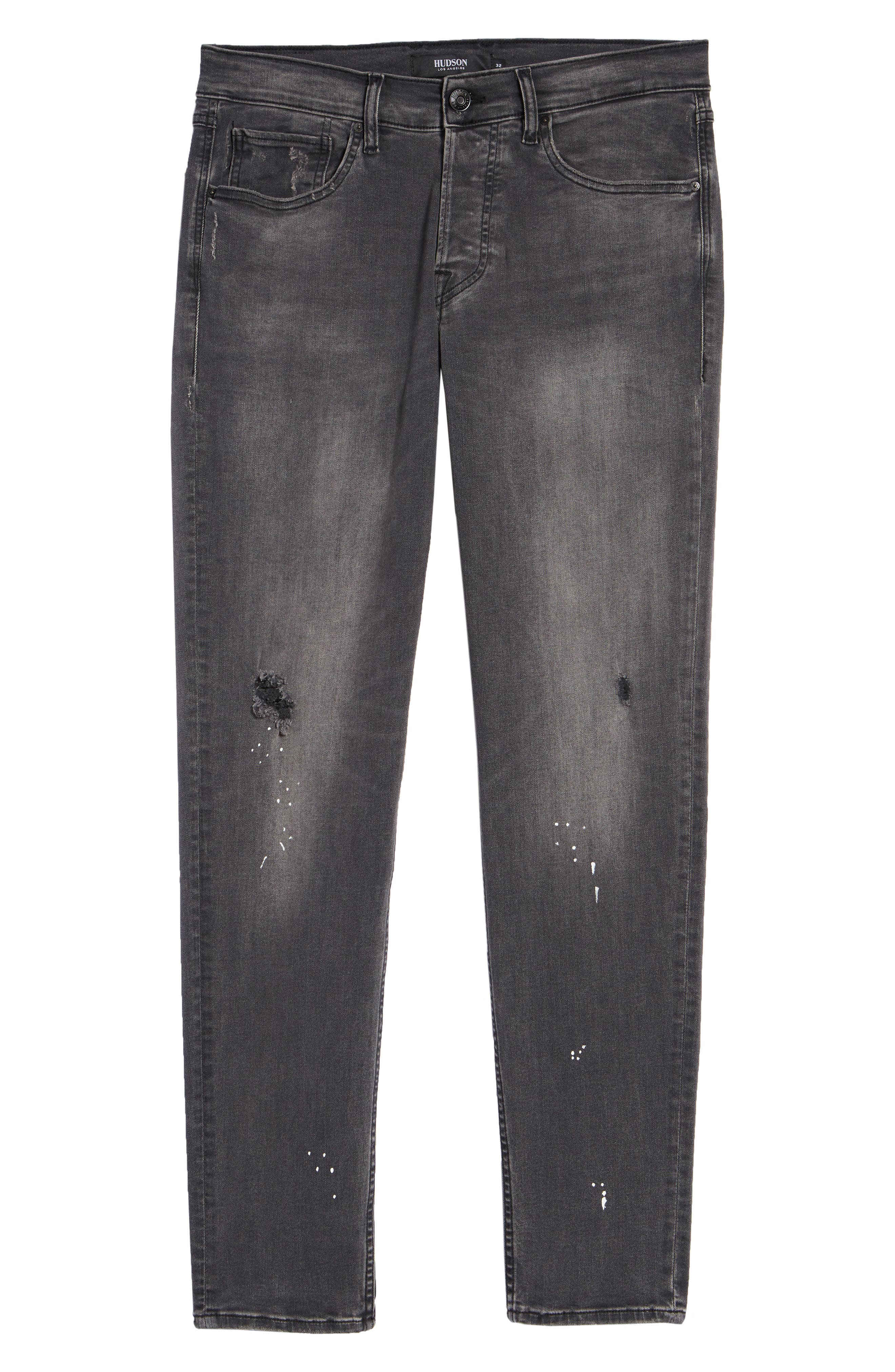 Sartor Slouchy Skinny Fit Jeans,                             Alternate thumbnail 6, color,                             LANG