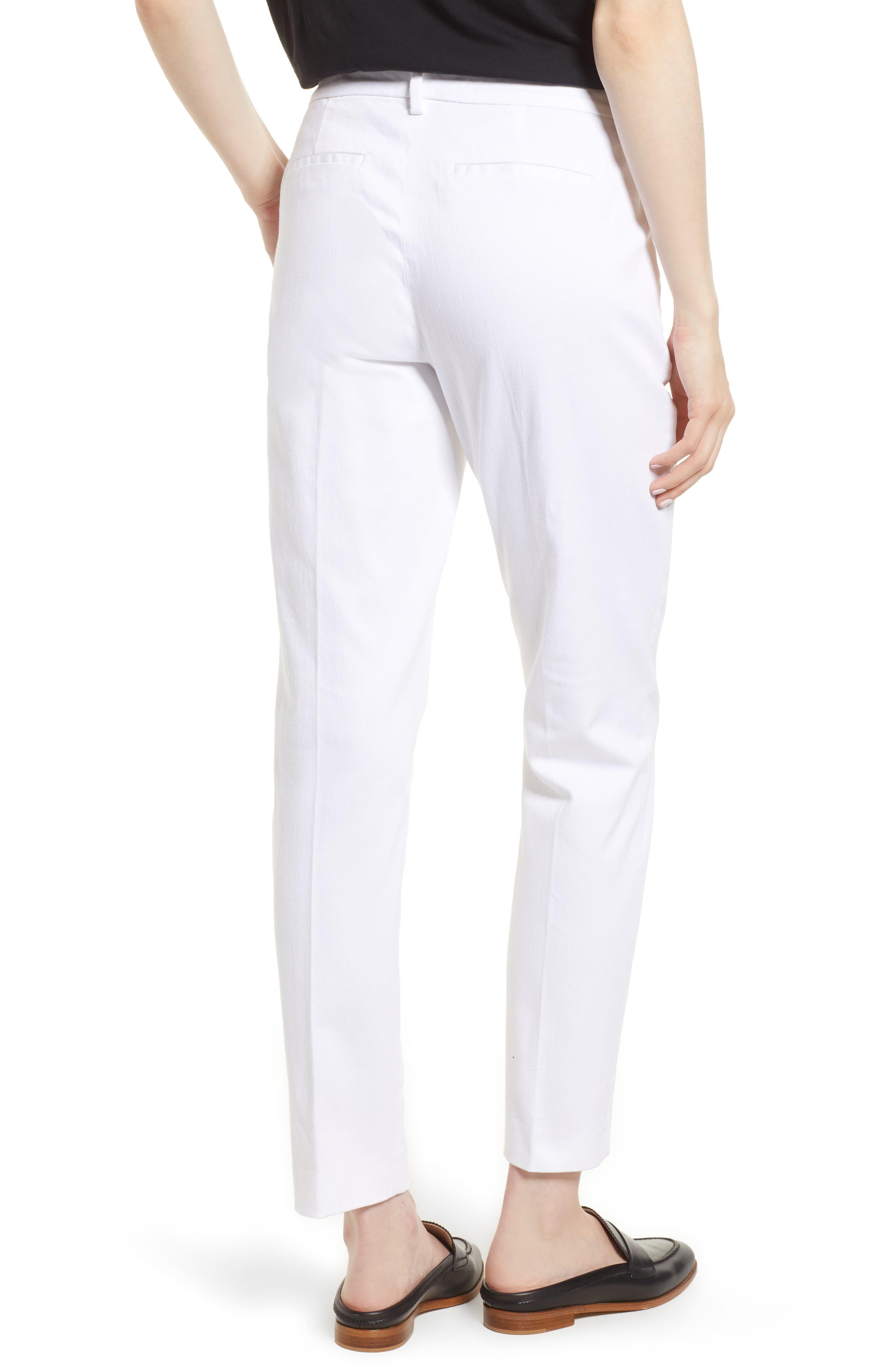 Kelsey Trousers,                             Alternate thumbnail 2, color,                             BRIGHT WHITE