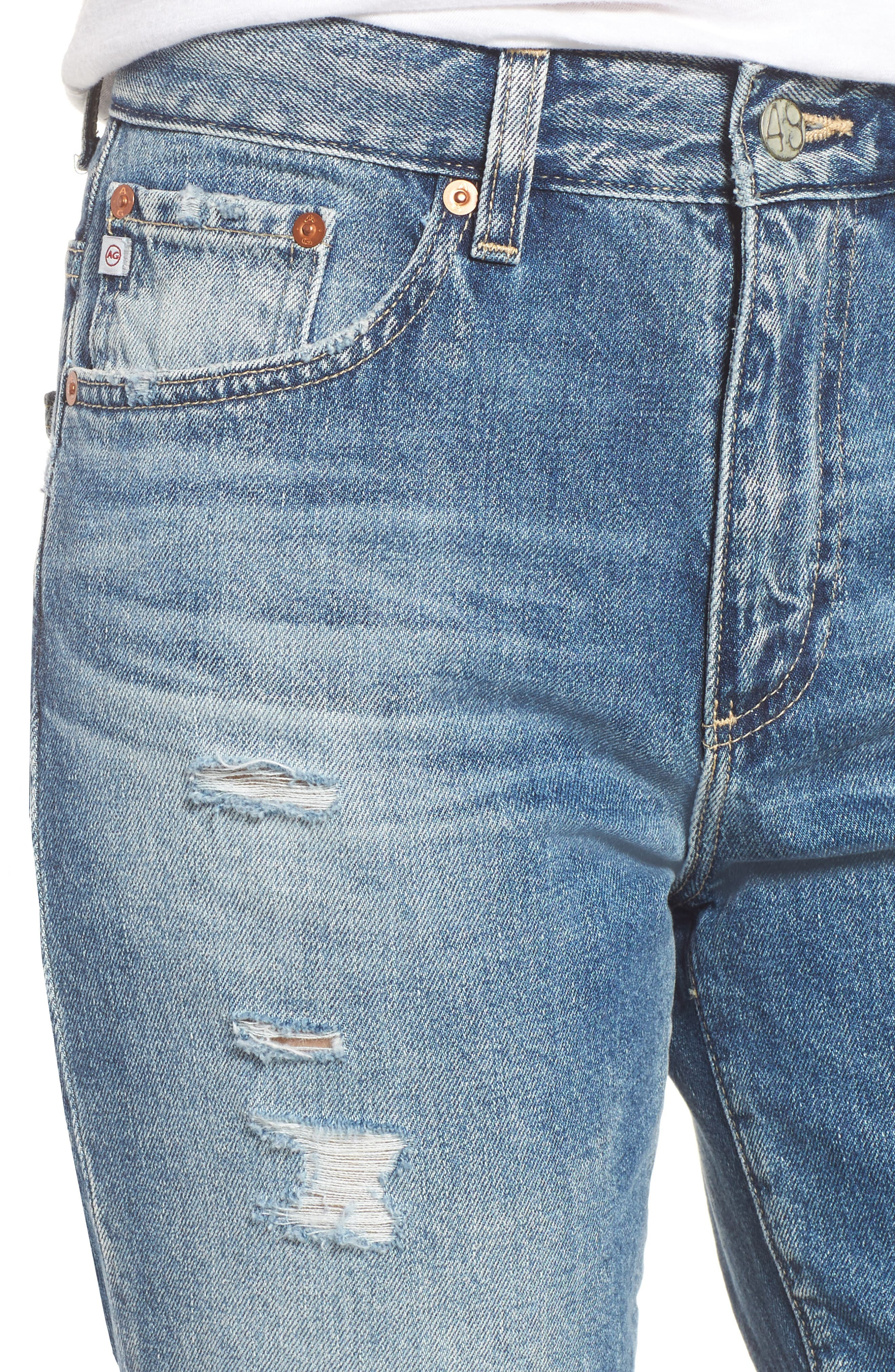 The Rhett Vintage High Waist Crop Jeans,                             Alternate thumbnail 13, color,