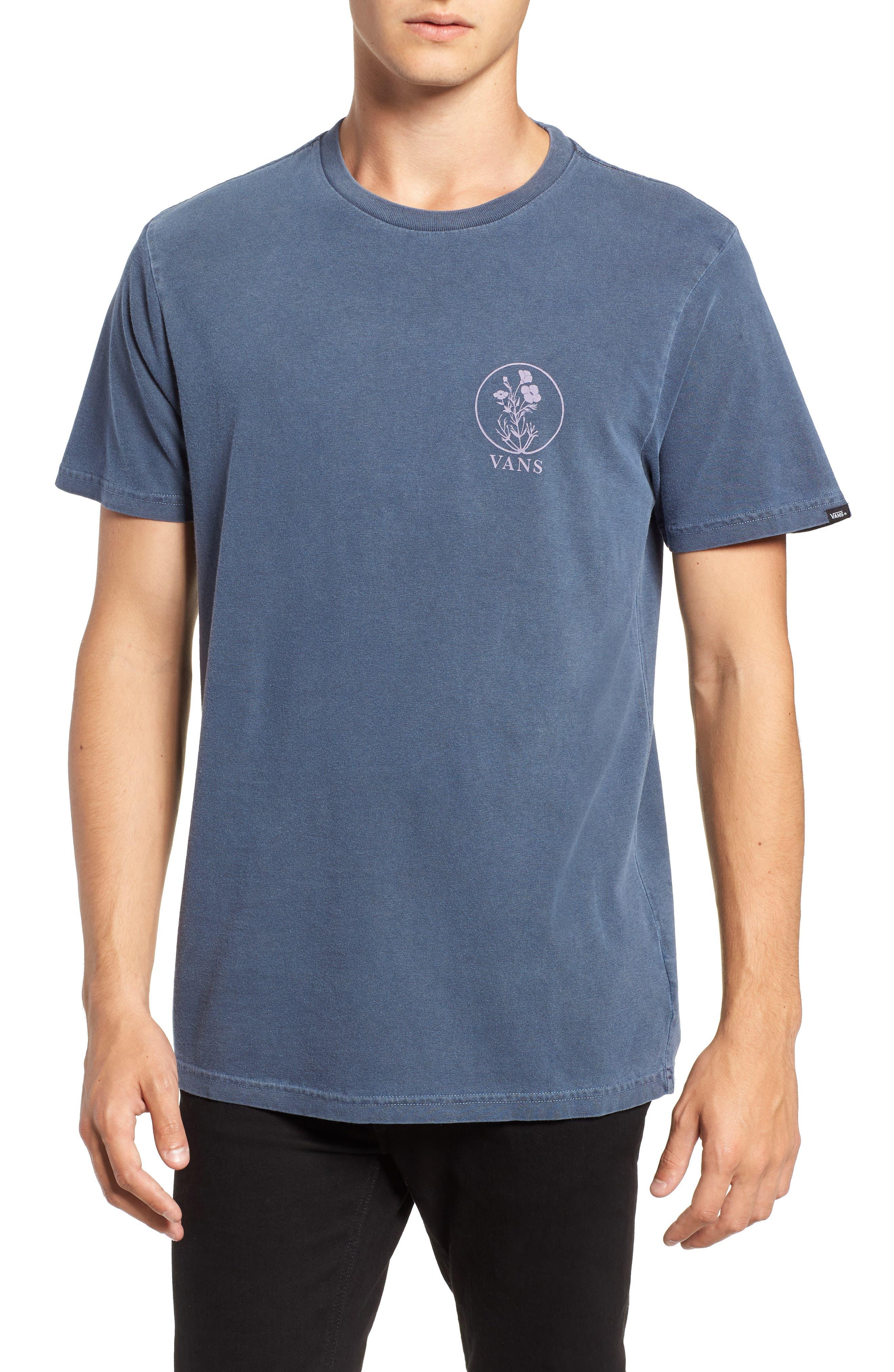 Vintage California Bred Graphic T-Shirt,                             Main thumbnail 1, color,                             DRESS BLUES