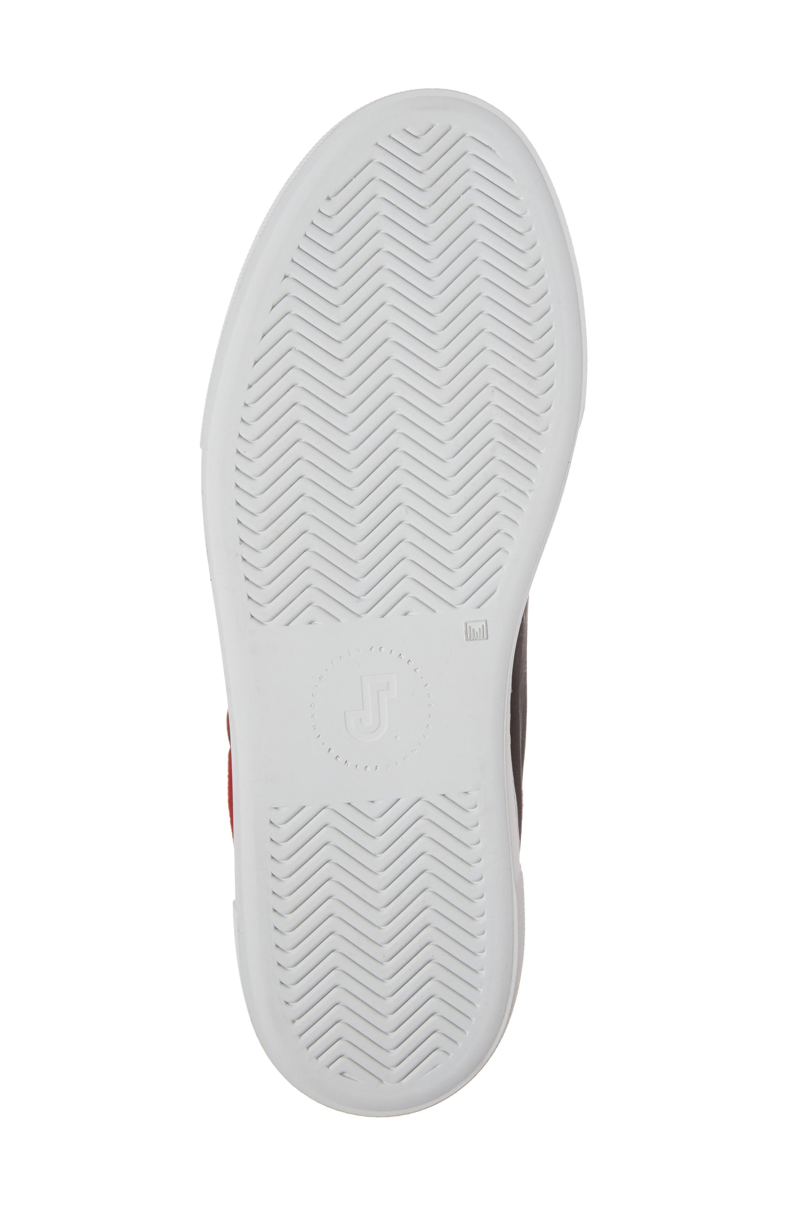 Bandana High Top Sneaker,                             Alternate thumbnail 6, color,                             001