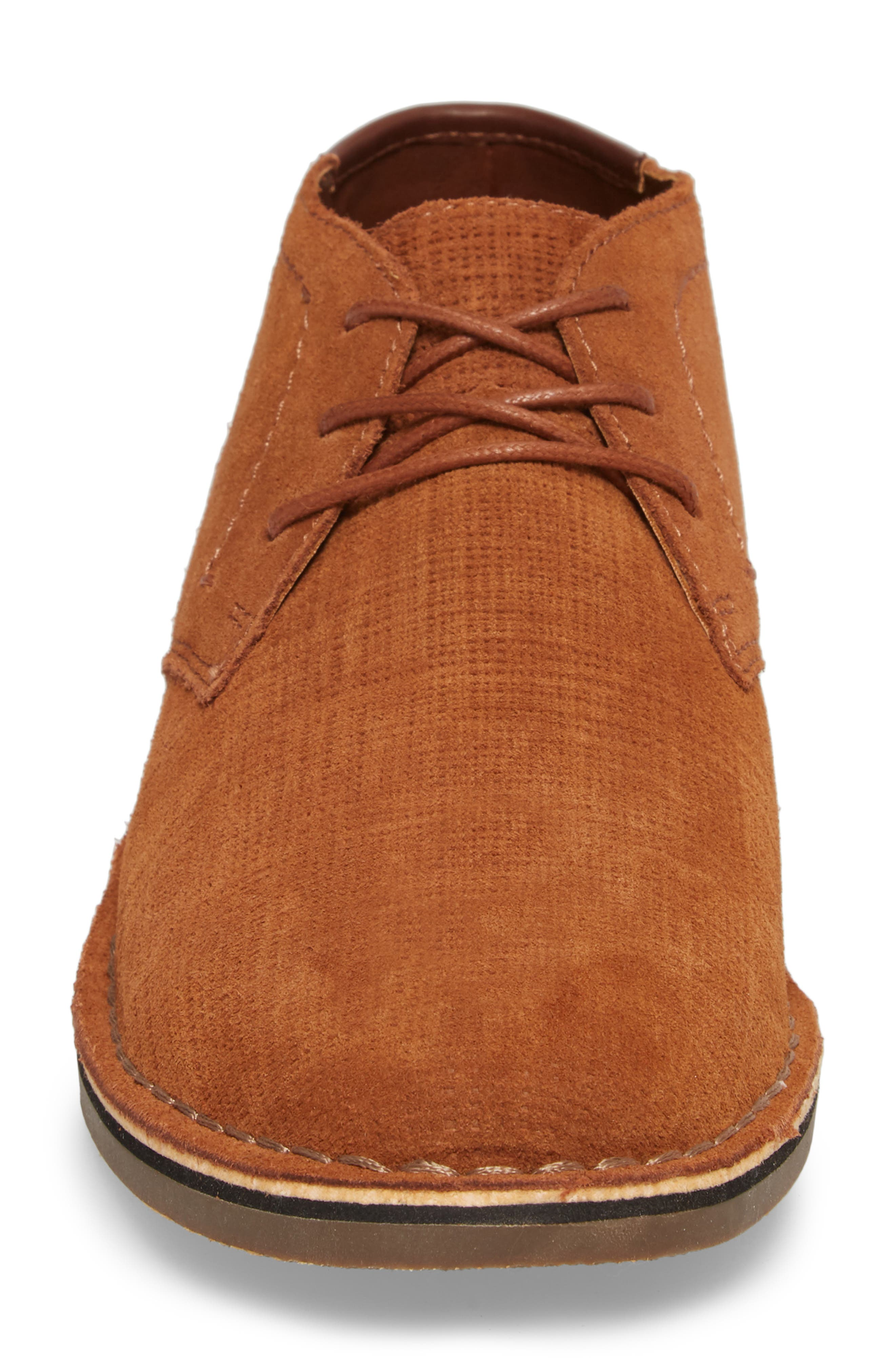 Desert Sun Textured Chukka Boot,                             Alternate thumbnail 7, color,