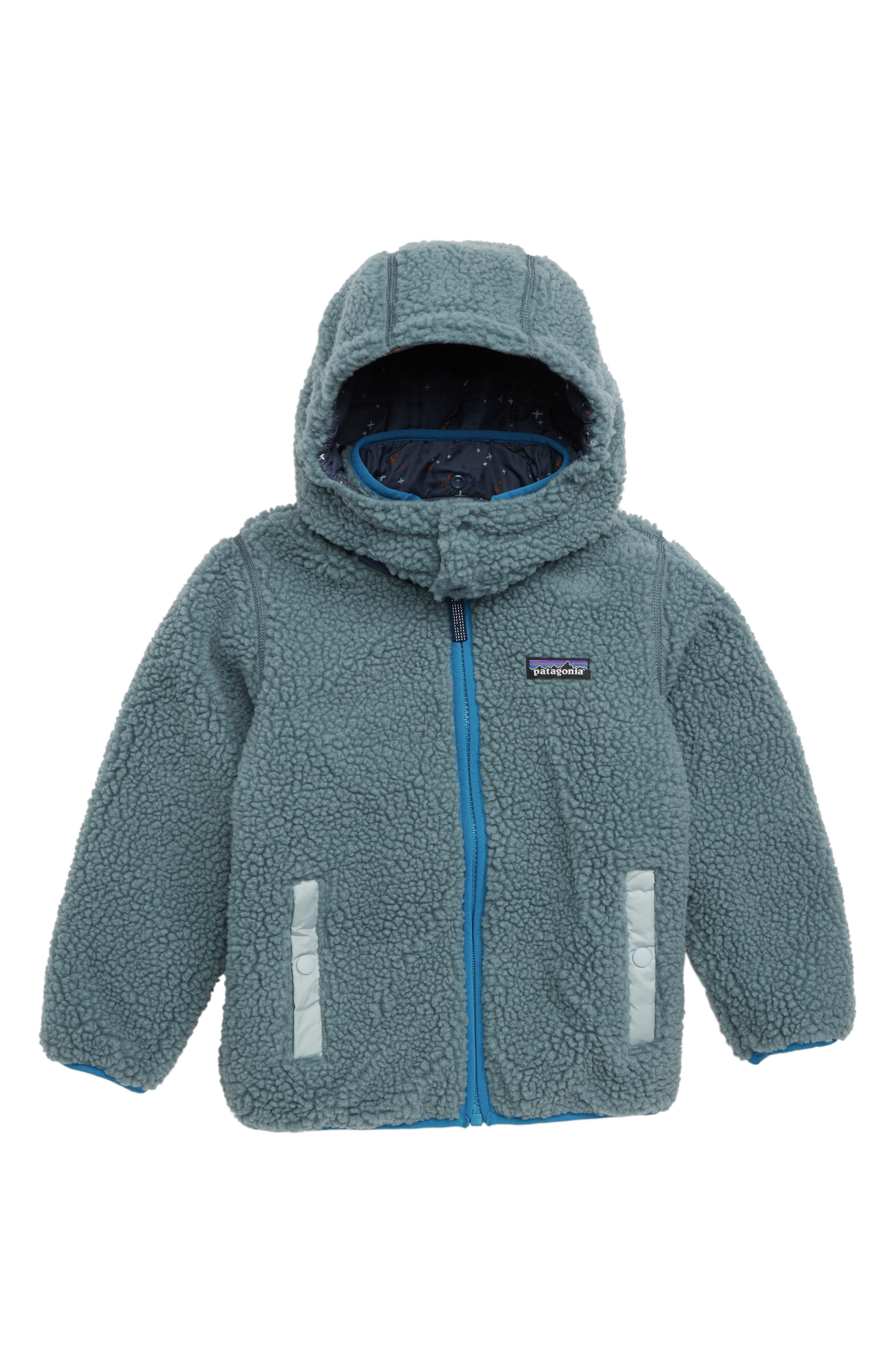 'Tribbles' Reversible Water Resistant Snow Jacket,                             Alternate thumbnail 2, color,                             CSCL CROSS STITCH NAVY