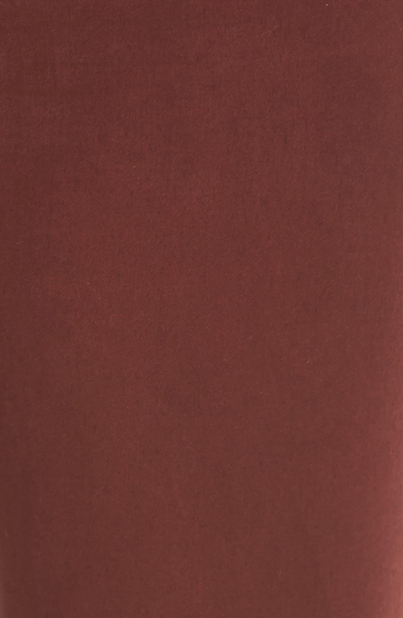 Sateen Skinny Ankle Jeans,                             Alternate thumbnail 5, color,                             201