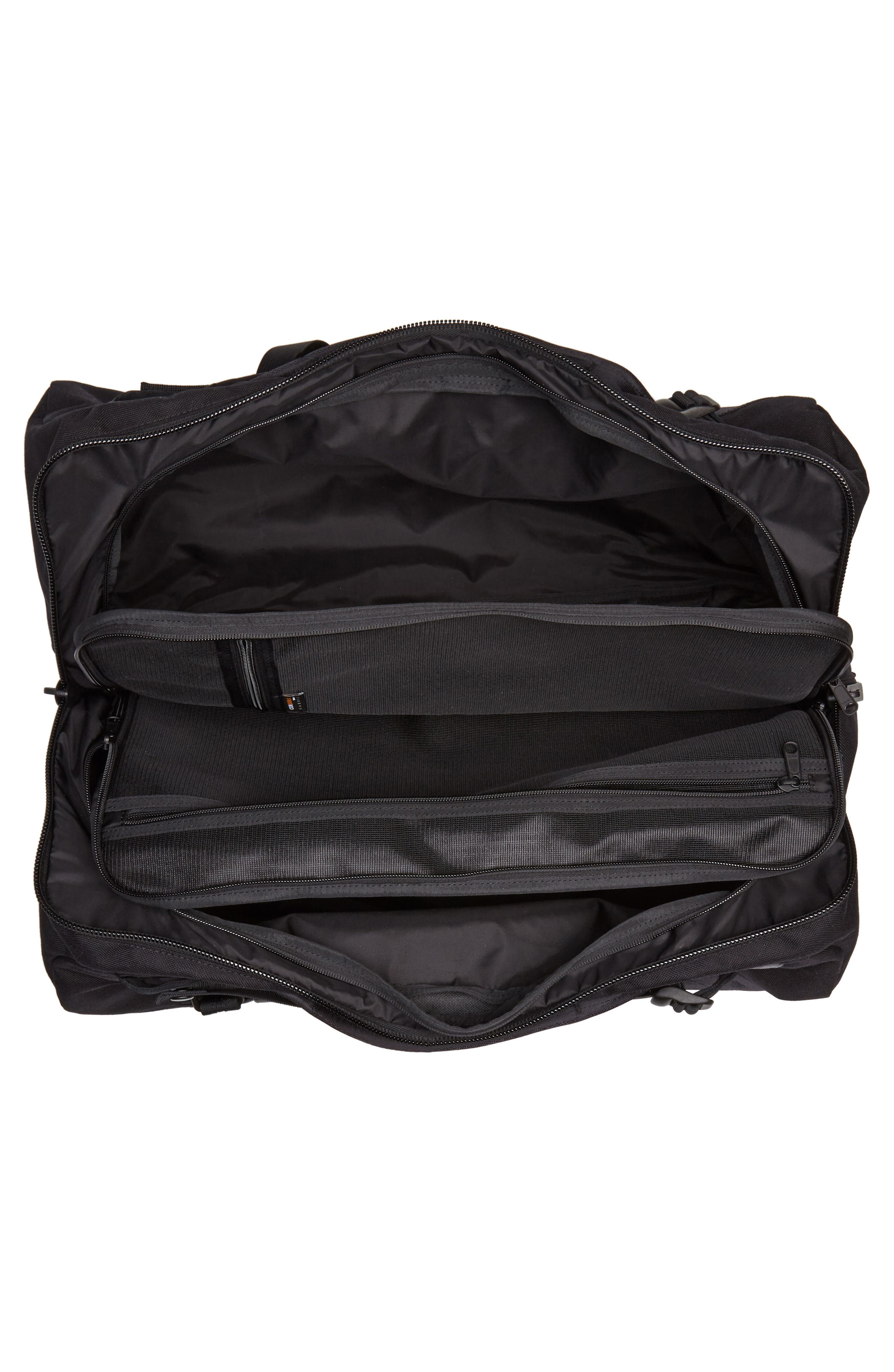 Porter-Yoshida & Co. Boothpack Convertible Duffel Bag,                             Alternate thumbnail 5, color,                             BLACK