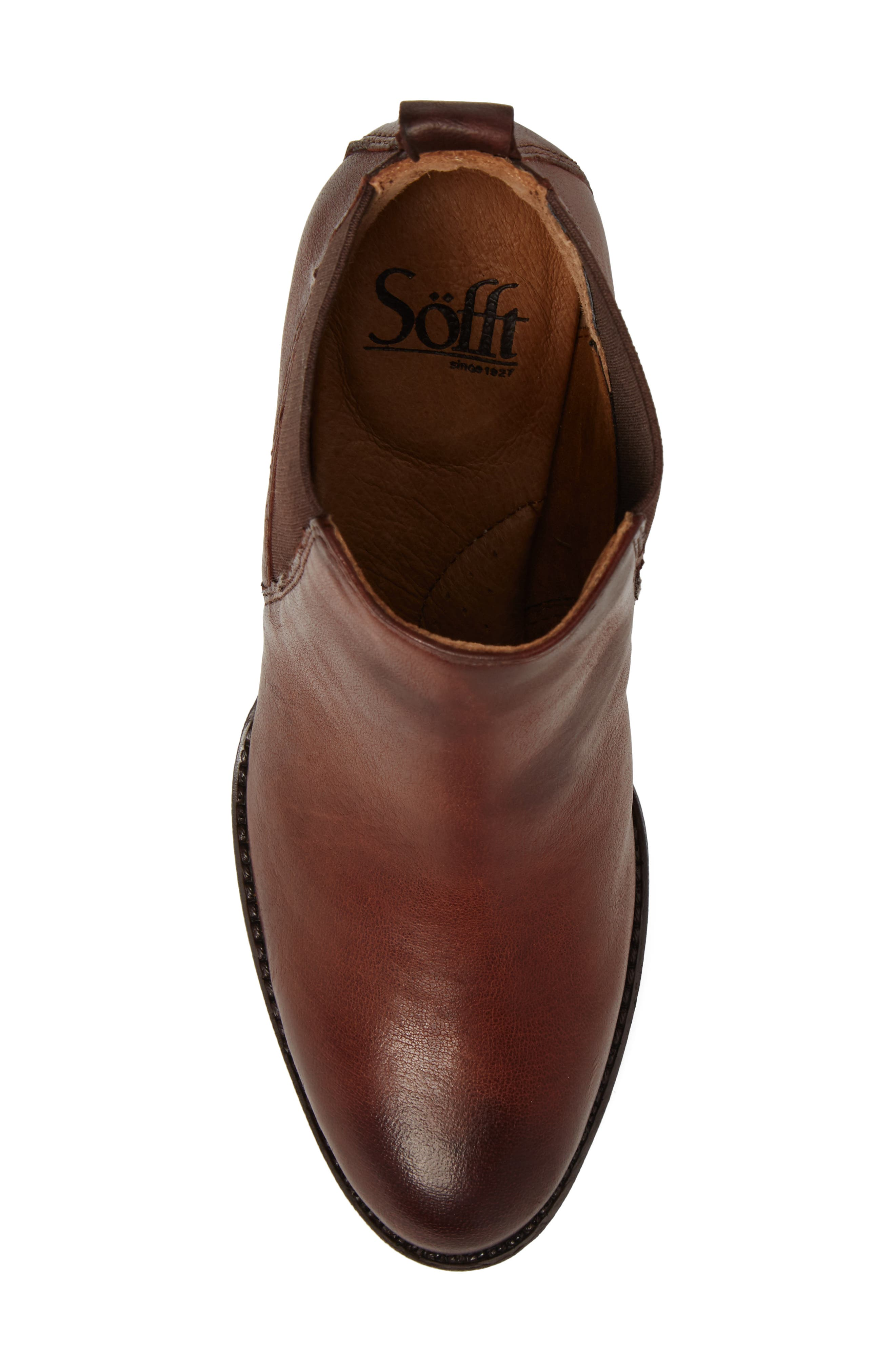 Welling Bootie,                             Alternate thumbnail 5, color,                             CAFFE LEATHER