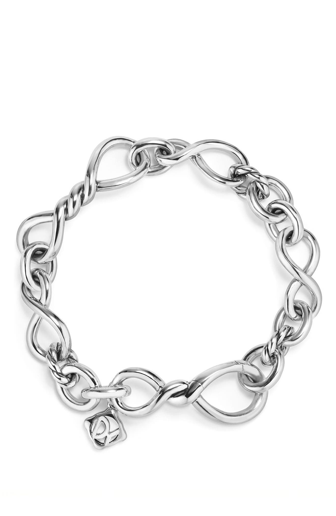 Continuance Medium Chain Bracelet,                             Alternate thumbnail 2, color,                             SILVER