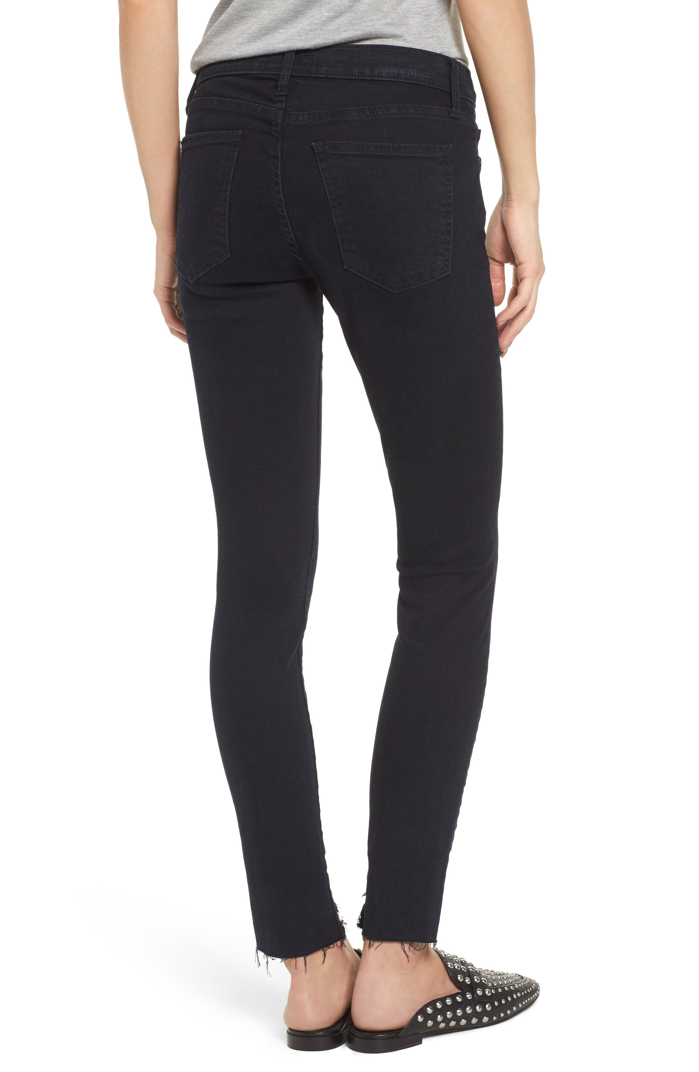 The High Waist Stiletto Ankle Skinny Jeans,                             Alternate thumbnail 2, color,                             418