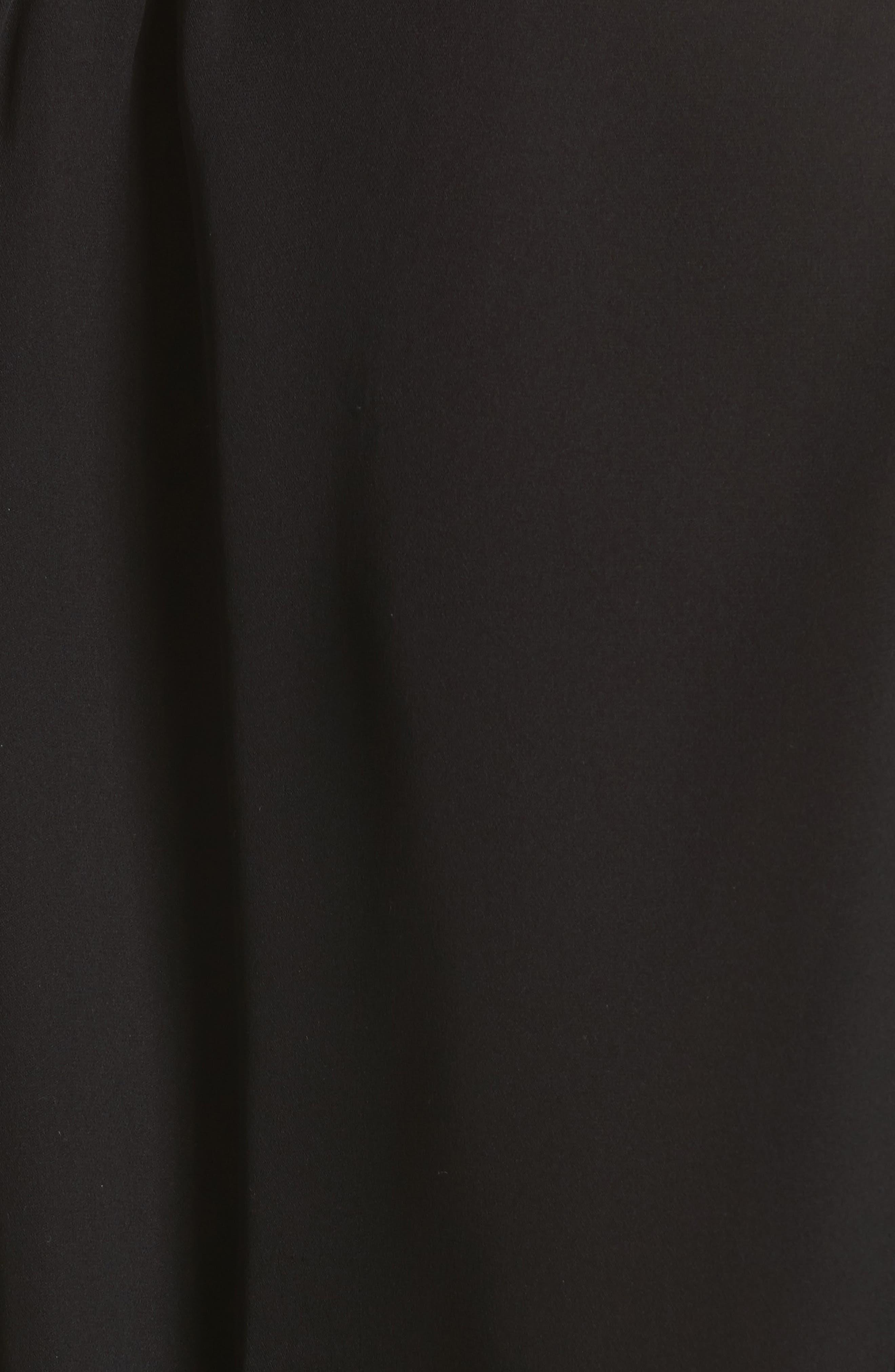 Alazne Ruffle Silk Top,                             Alternate thumbnail 5, color,                             002
